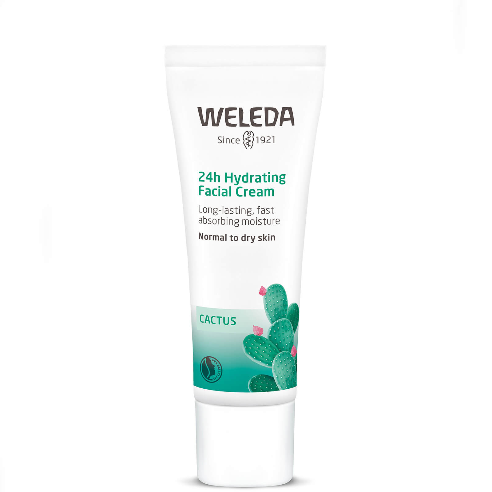 Купить Увлажняющий крем для лица с опунцией Weleda Prickly Pear Hydrating Facial Cream 30 мл