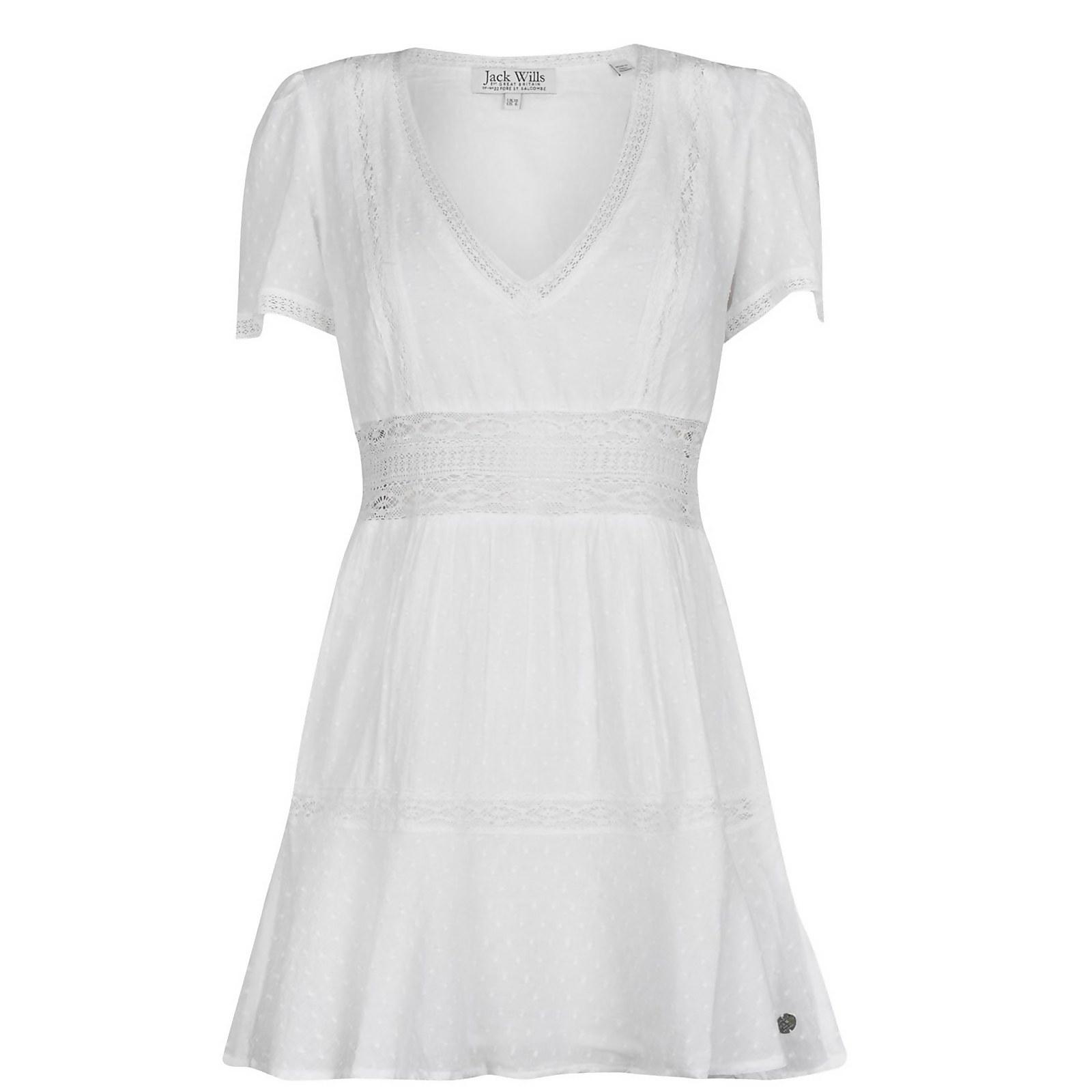 Tara Prairie Dress - White