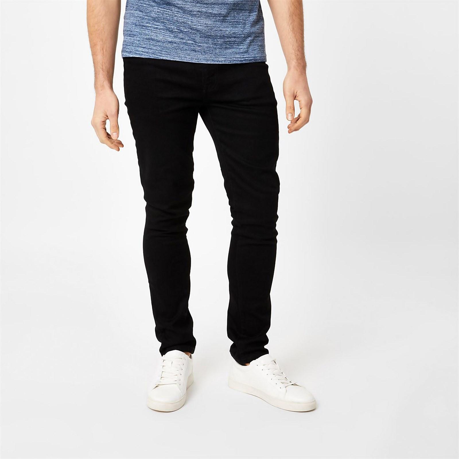 Slim Jeans - Black - 34W R