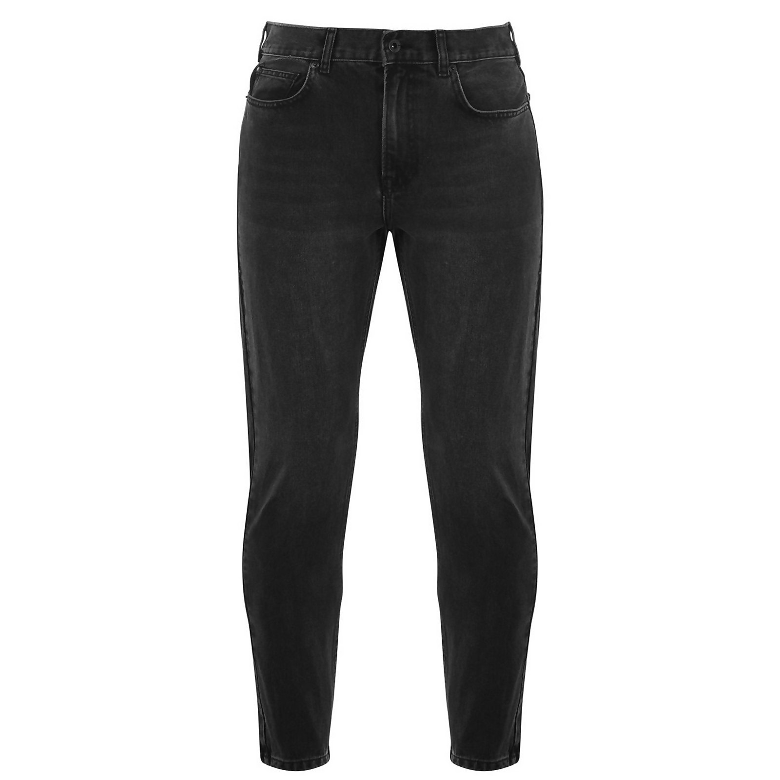 Slim Tapered Jeans - Black - 32R