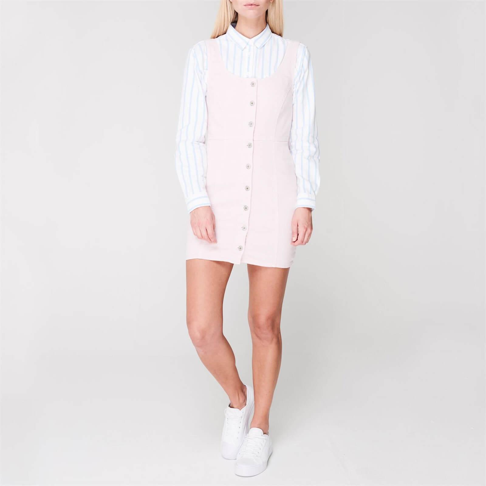 Rumney Pencil Denim Dress - Pale Pink