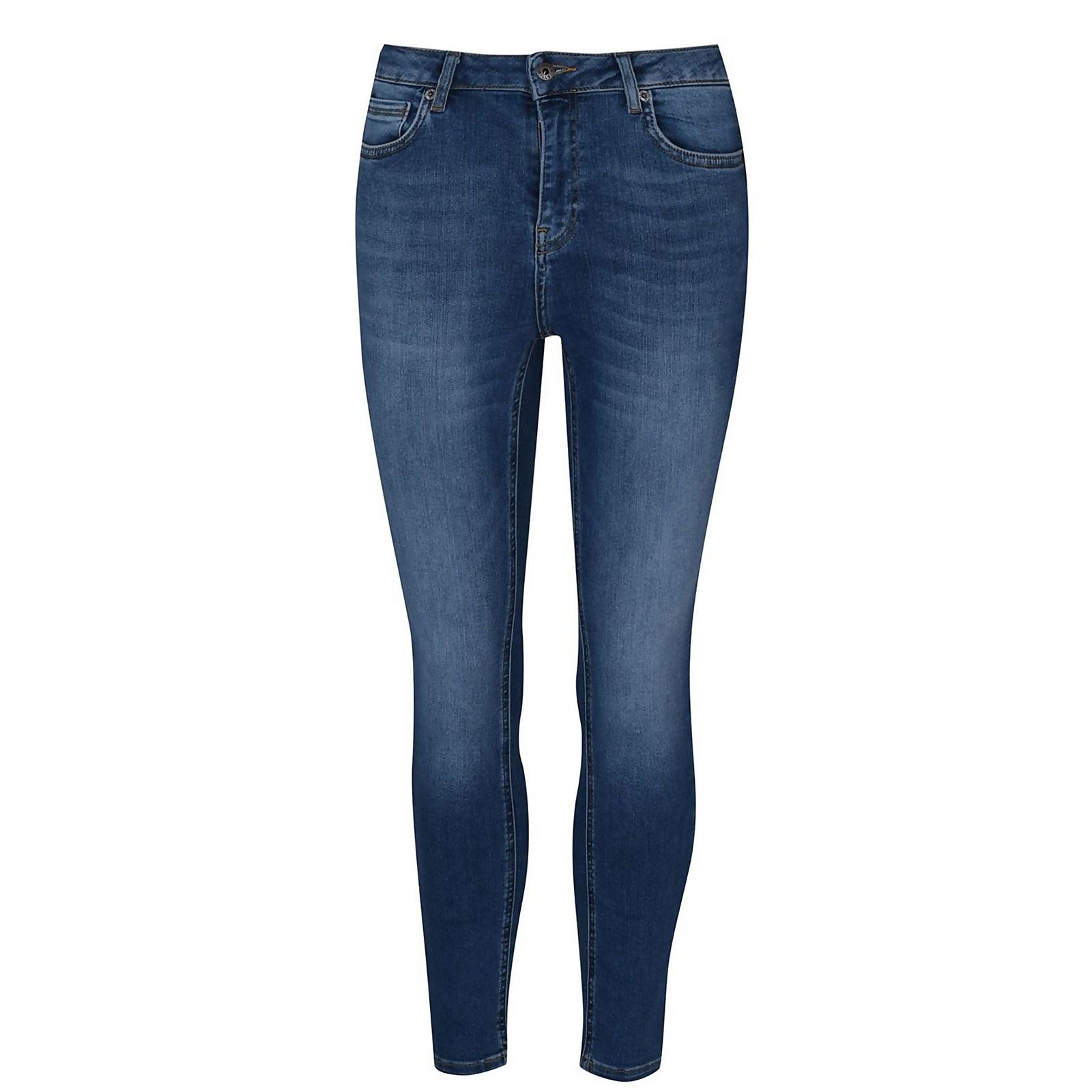 Sancomb Crop Jeans - Mid Indigo - 32 L26
