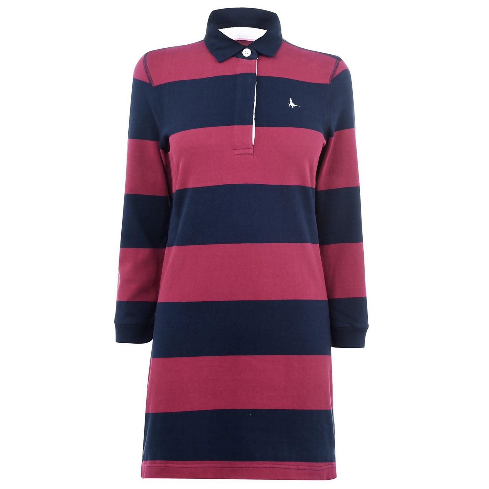 Worlington Rugby Dress - Damson/Navy