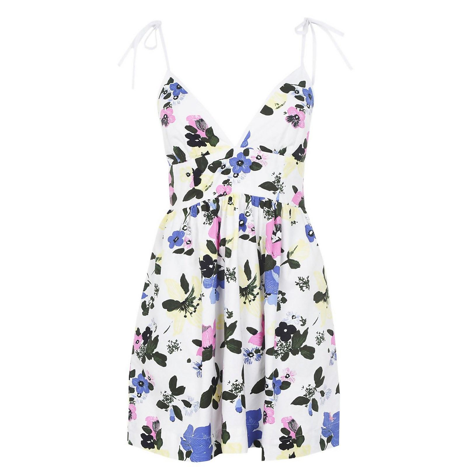 Ella Oxford Dress - White