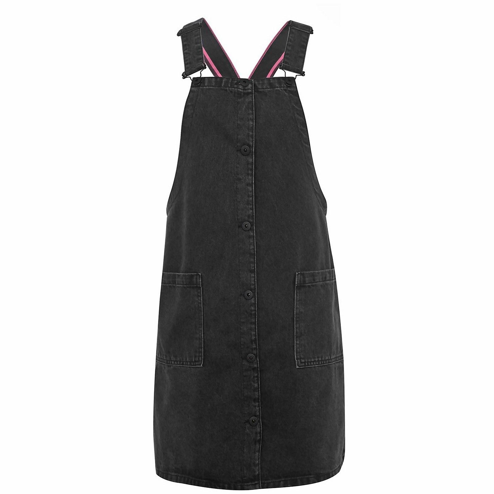 Patsy Denim Dress - Washed Black