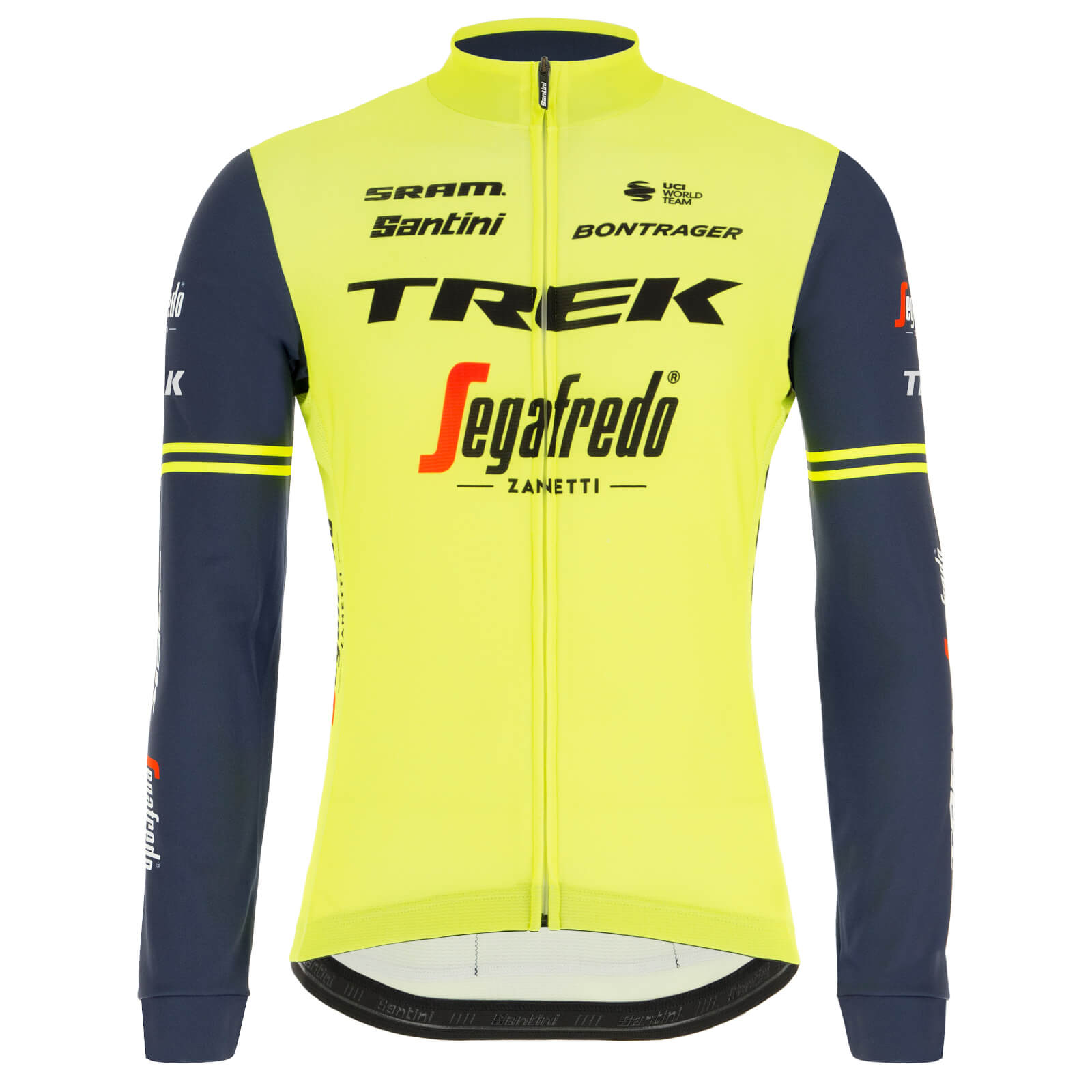 Santini Trek-Segafredo Training Classe Long Sleeve Jersey - M