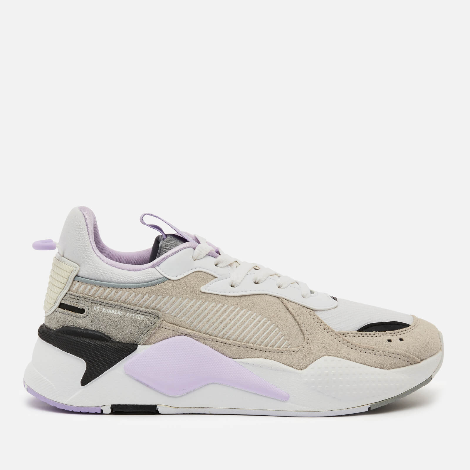 Puma Womens Rs X Reinvent Running Style Trainers Nimbus Cloud Puma White Light Lavender Uk 4