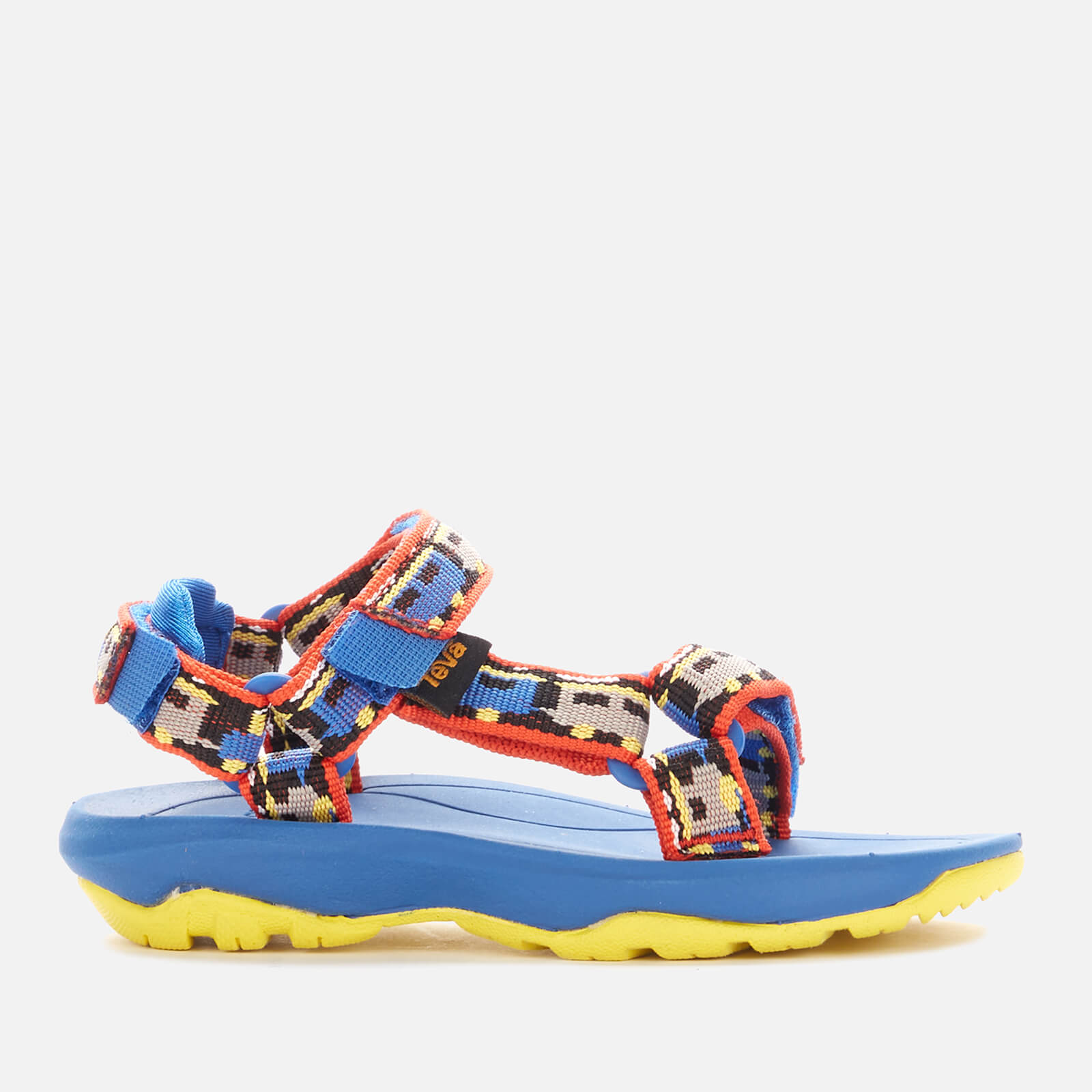 Teva Toddler's Hurricane XLT2 Sandals - Trains Blue - UK 4 Toddler
