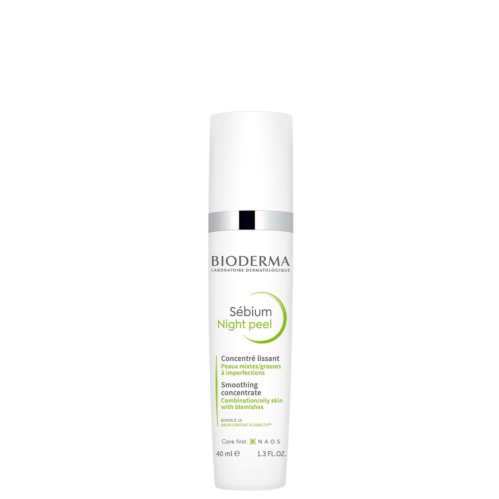 Купить Bioderma Sébium Night Peel Smoothing Concentrate Gel 40ml