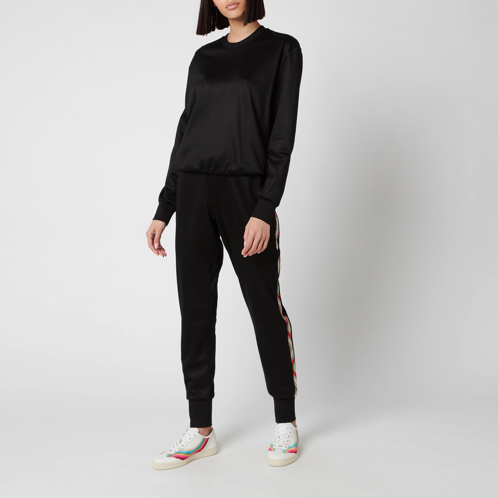 ps paul smith women's swirl sweatshirt - black - xs