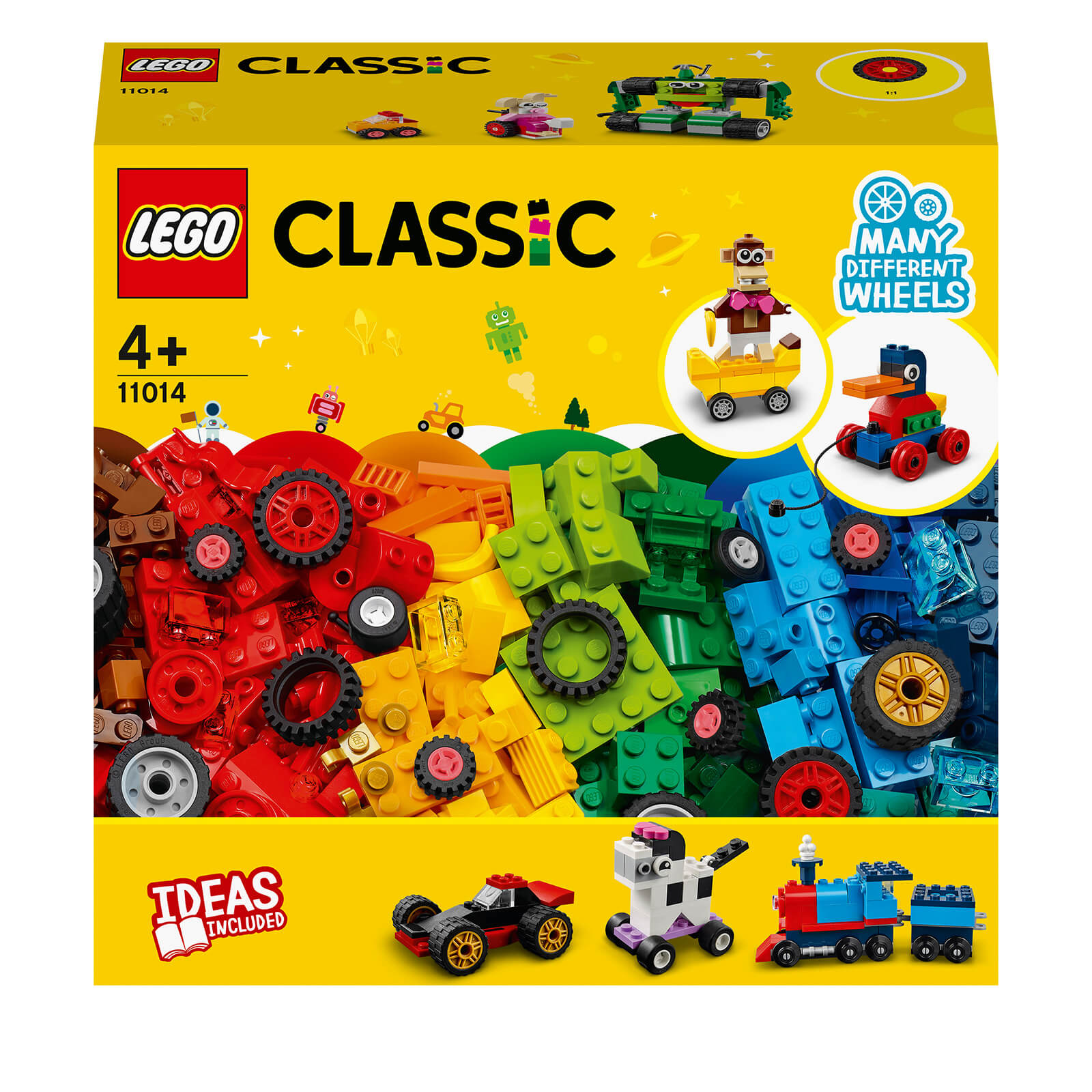 LEGO Classic: Bricks And Wheels Starter Building Set (11014)