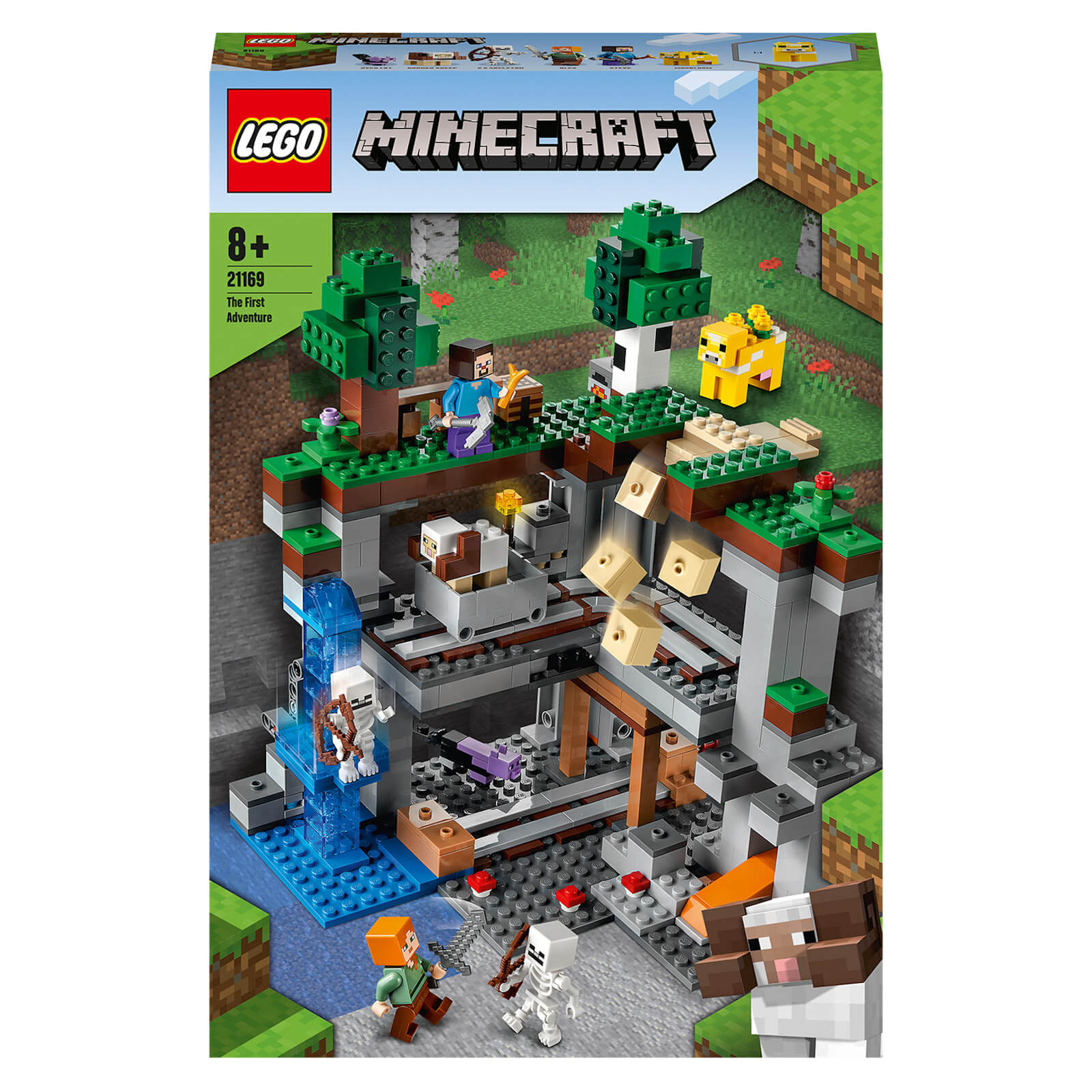 Image of Lego Minecraft The First Adventure Construction Set