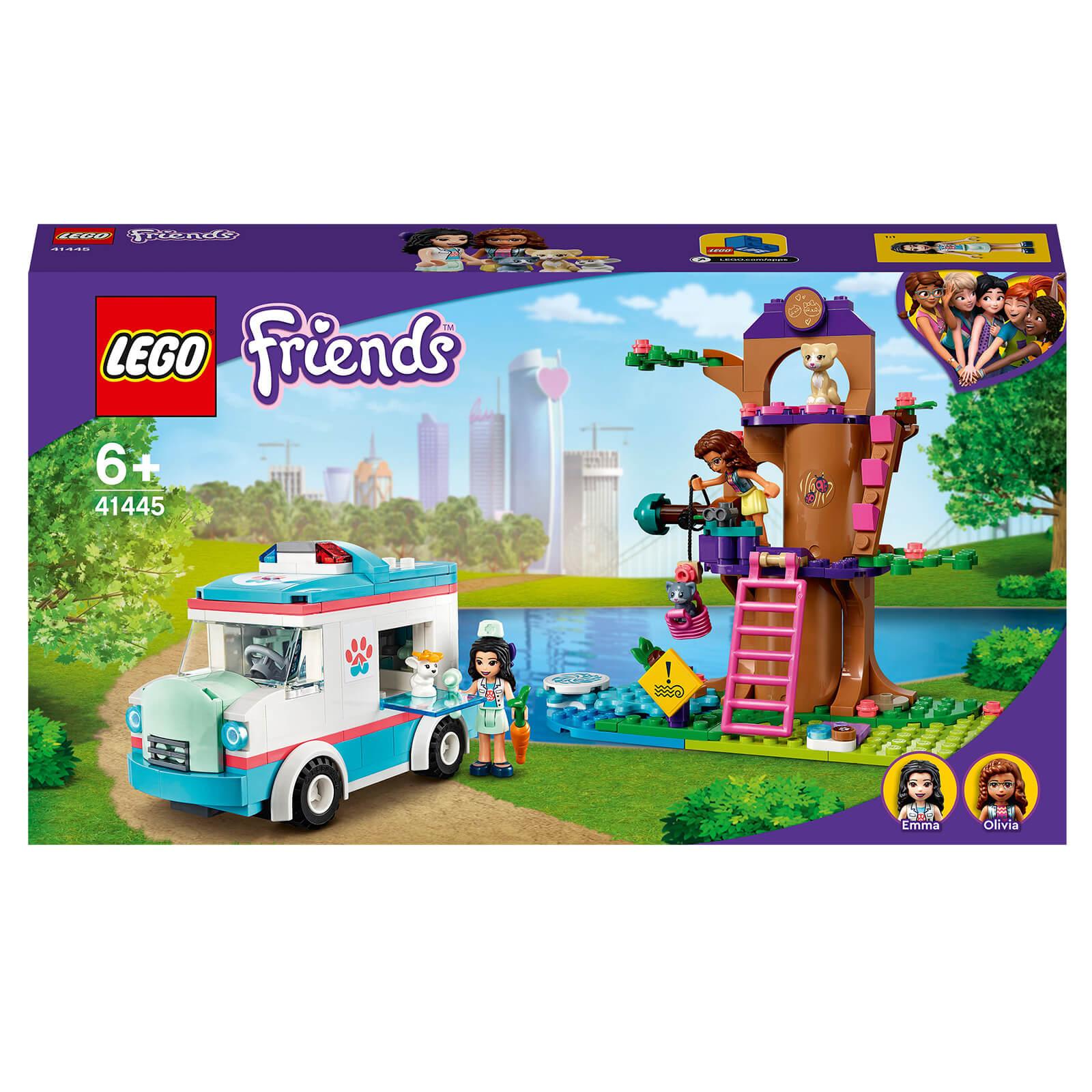 LEGO Friends: Vet Clinic Ambulance Toy Car (41445)