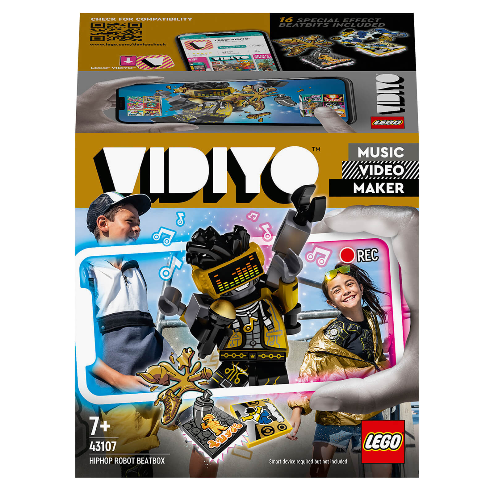 LEGO VIDIYO HipHop Robot BeatBox Music Video Maker Toy (43107)