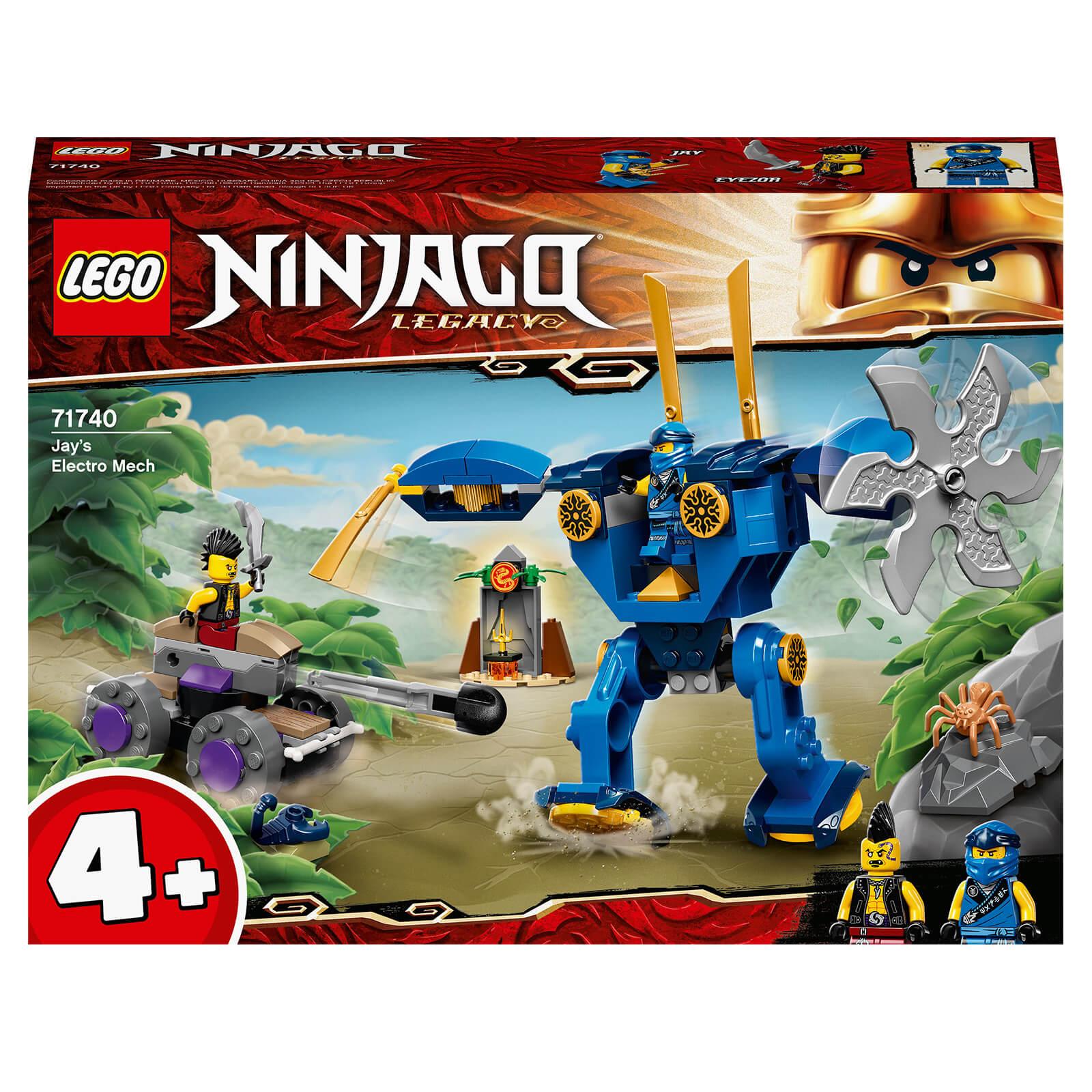 LEGO NINJAGO: Legacy Jay�s Electro Mech Toy (71740)