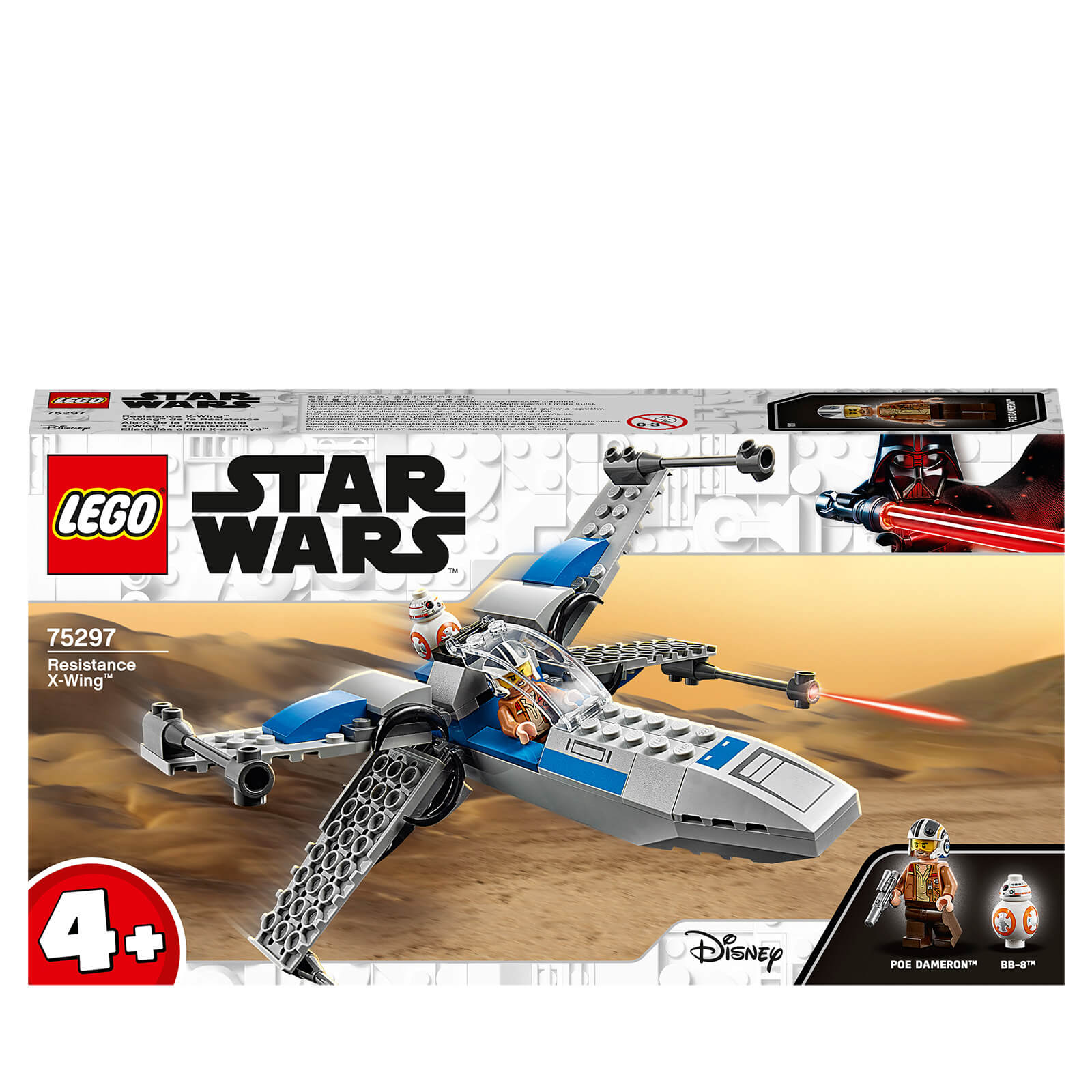 Image of LEGO Star Wars Resistance X-Wing - 75297