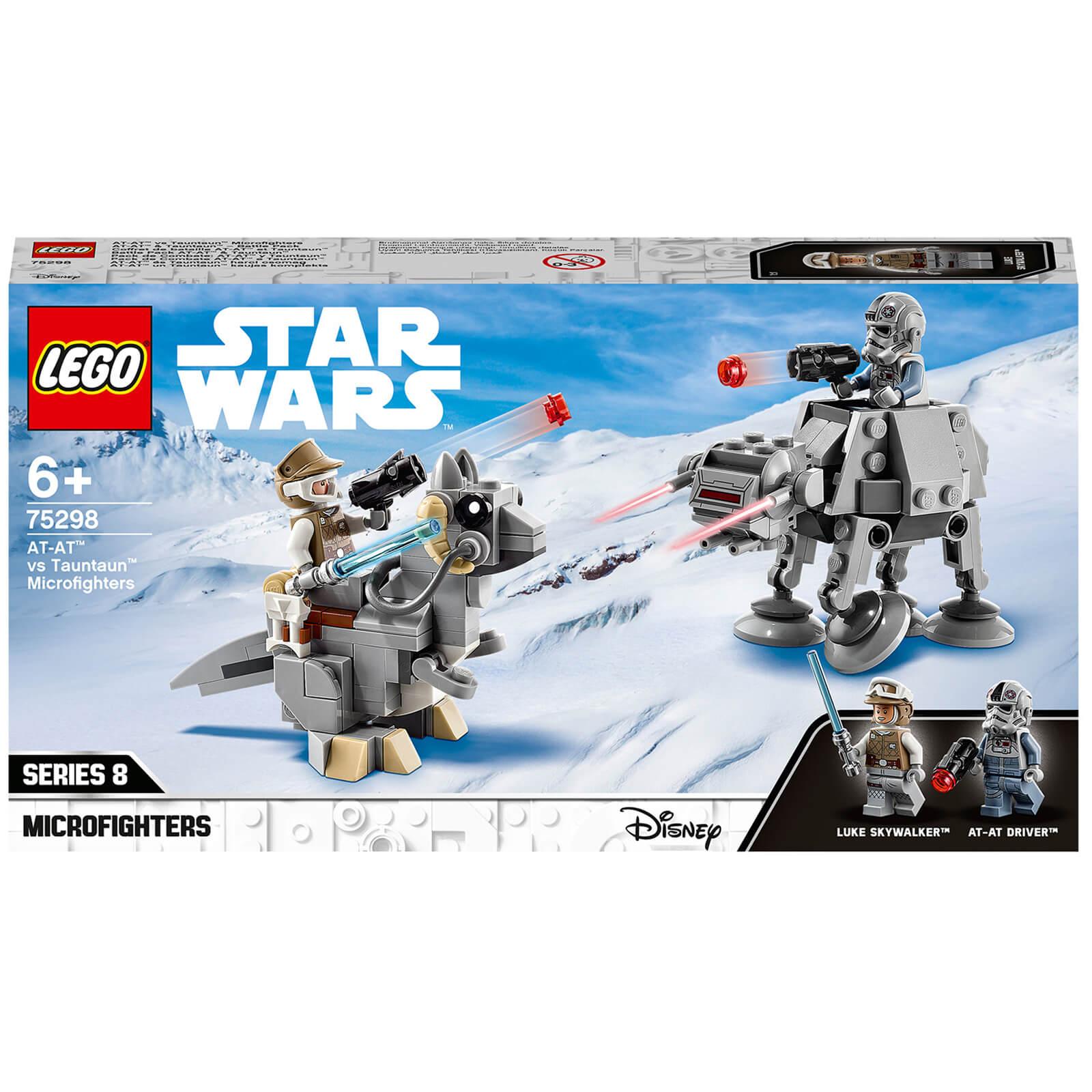 Image of LEGO Star Wars AT-AT vs Tauntaun - 75298