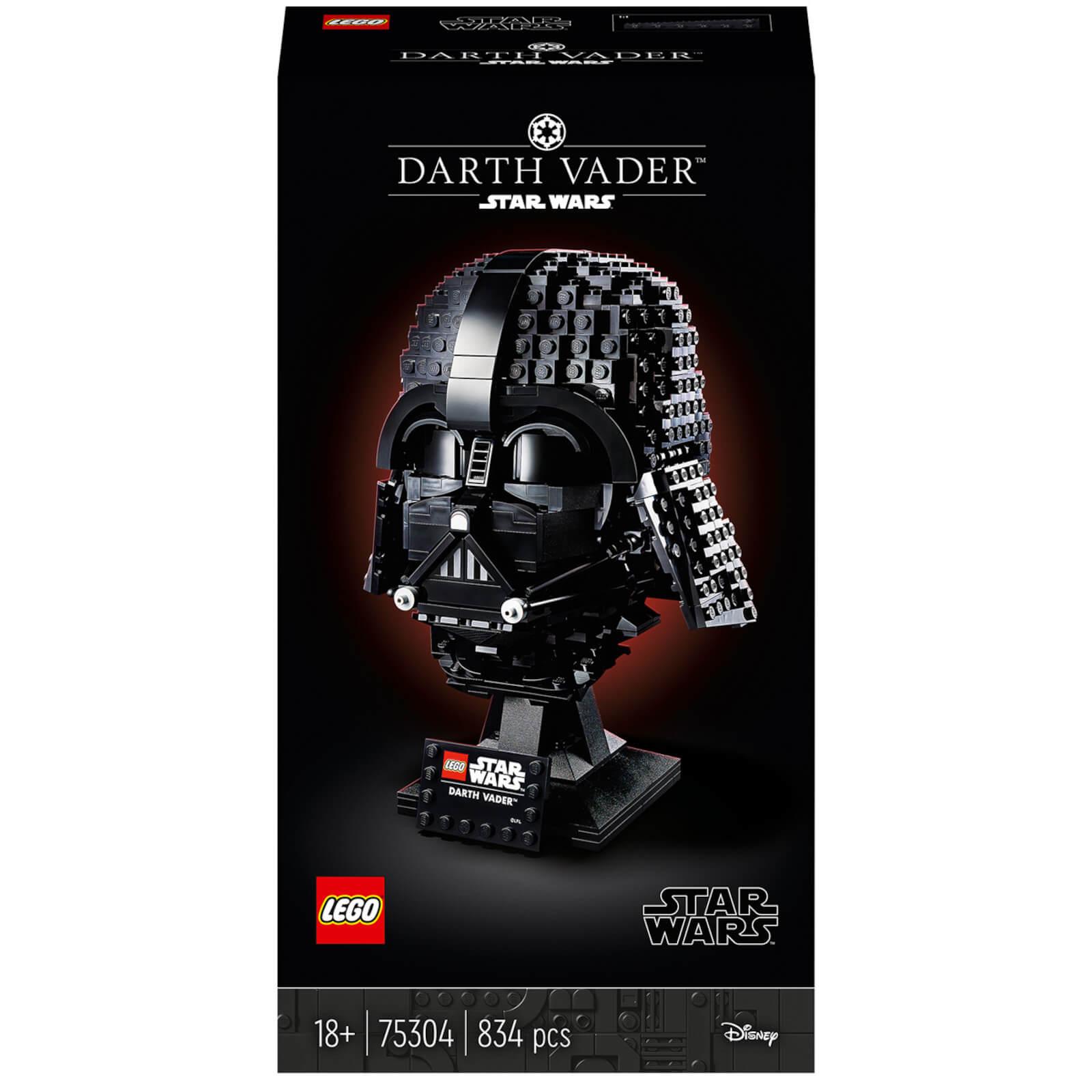 Image of LEGO Star Wars: Darth Vader Helmet Set for Adults (75304)