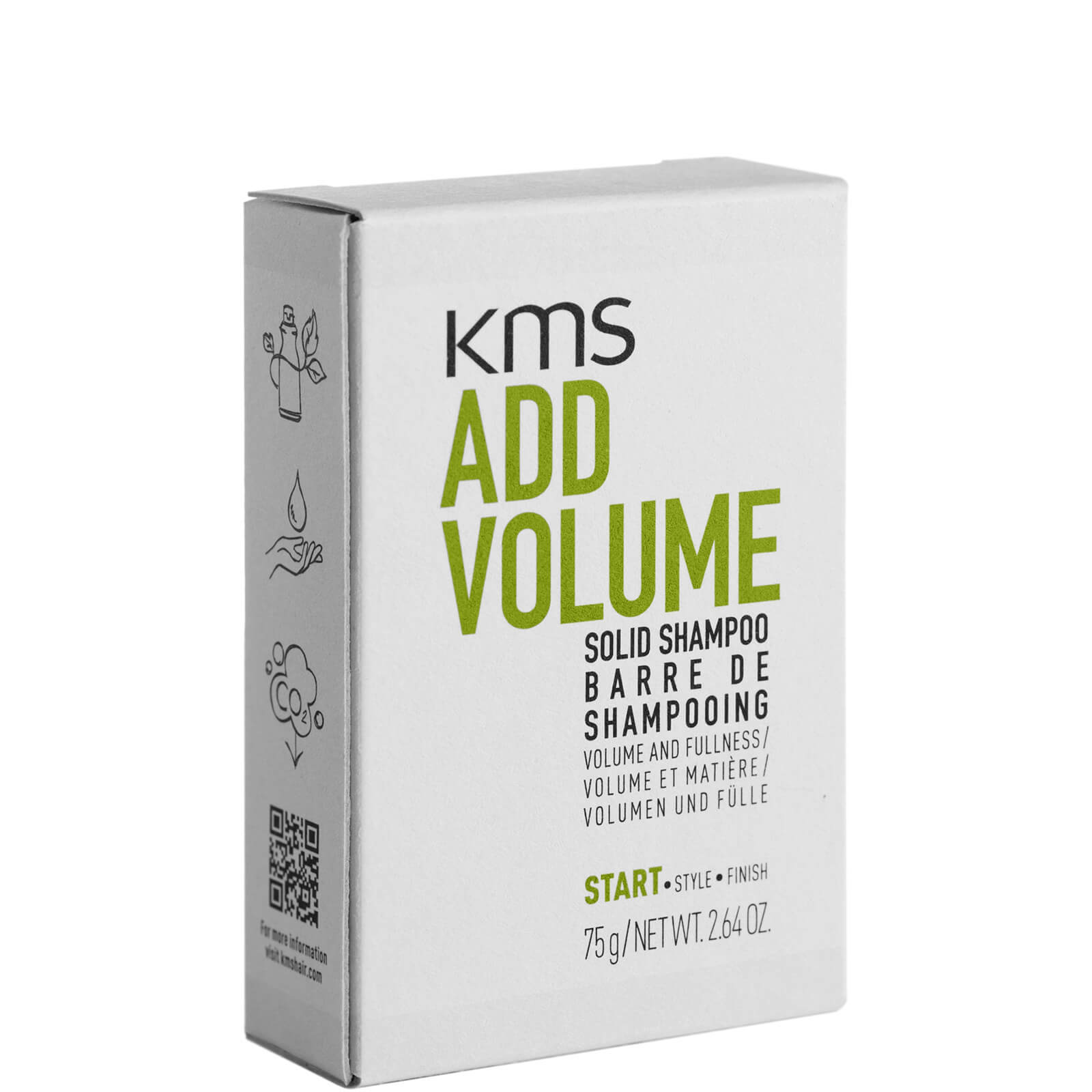 Kms ADD VOLUME SOLID SHAMPOO 75G