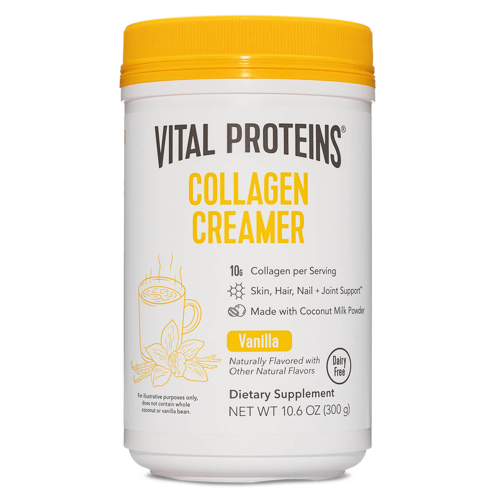 Collagen Creamer Powder - Vanilla 300g