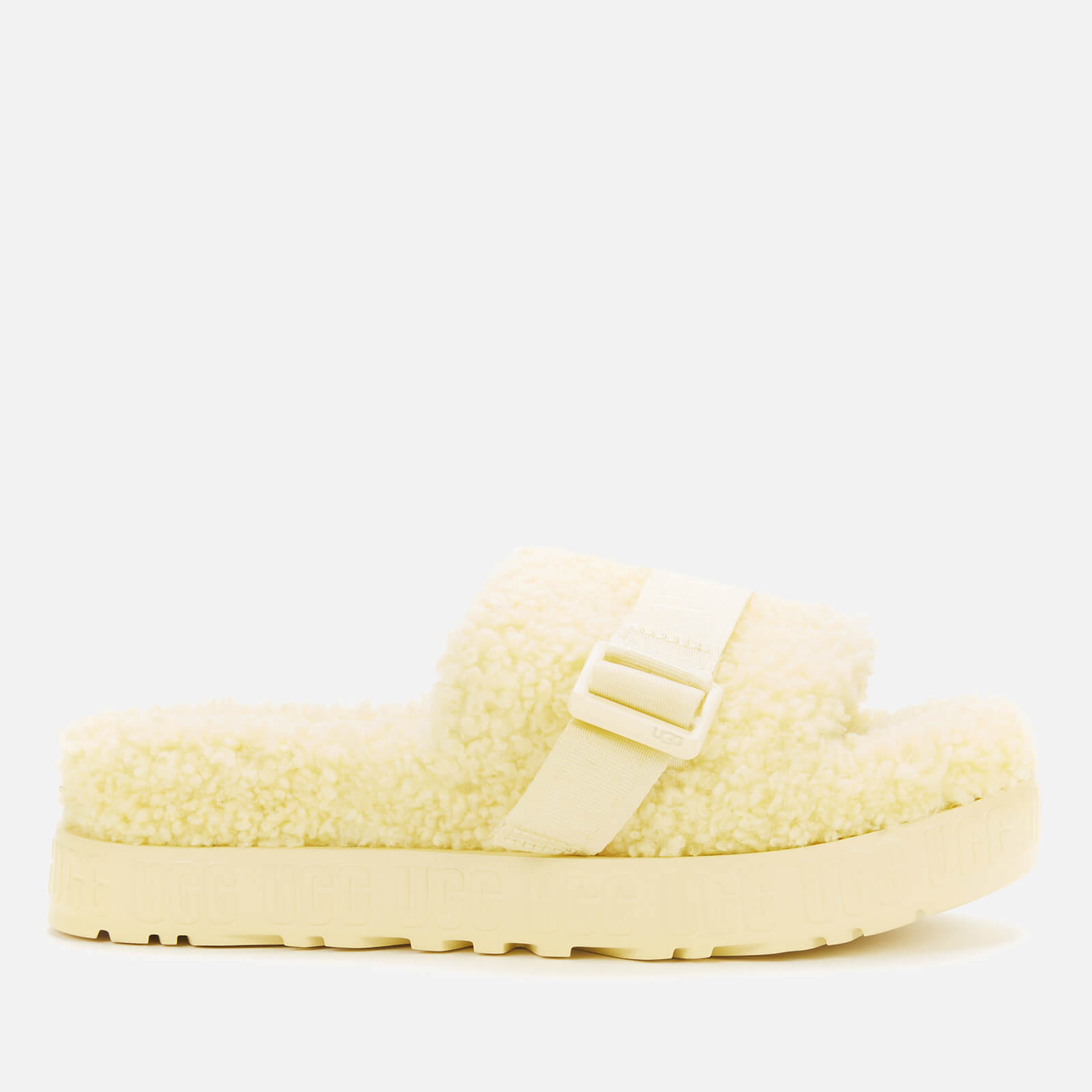 Ugg Women's Fluffita Sheepskin Slide Sandals - Margarita - Uk 3