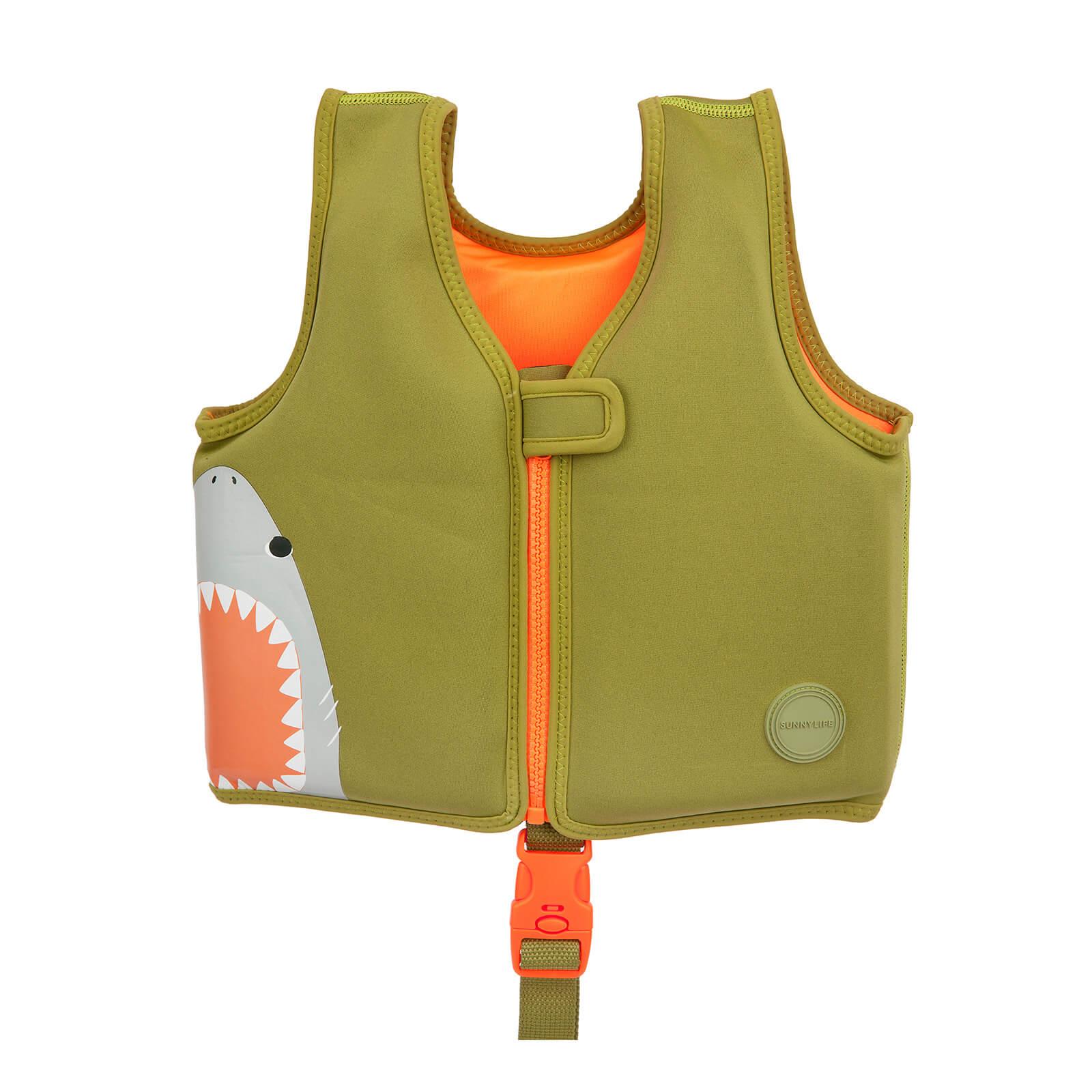 Sunnylife Kids Lifesaver Vest   Shark Attack   2 3 Years