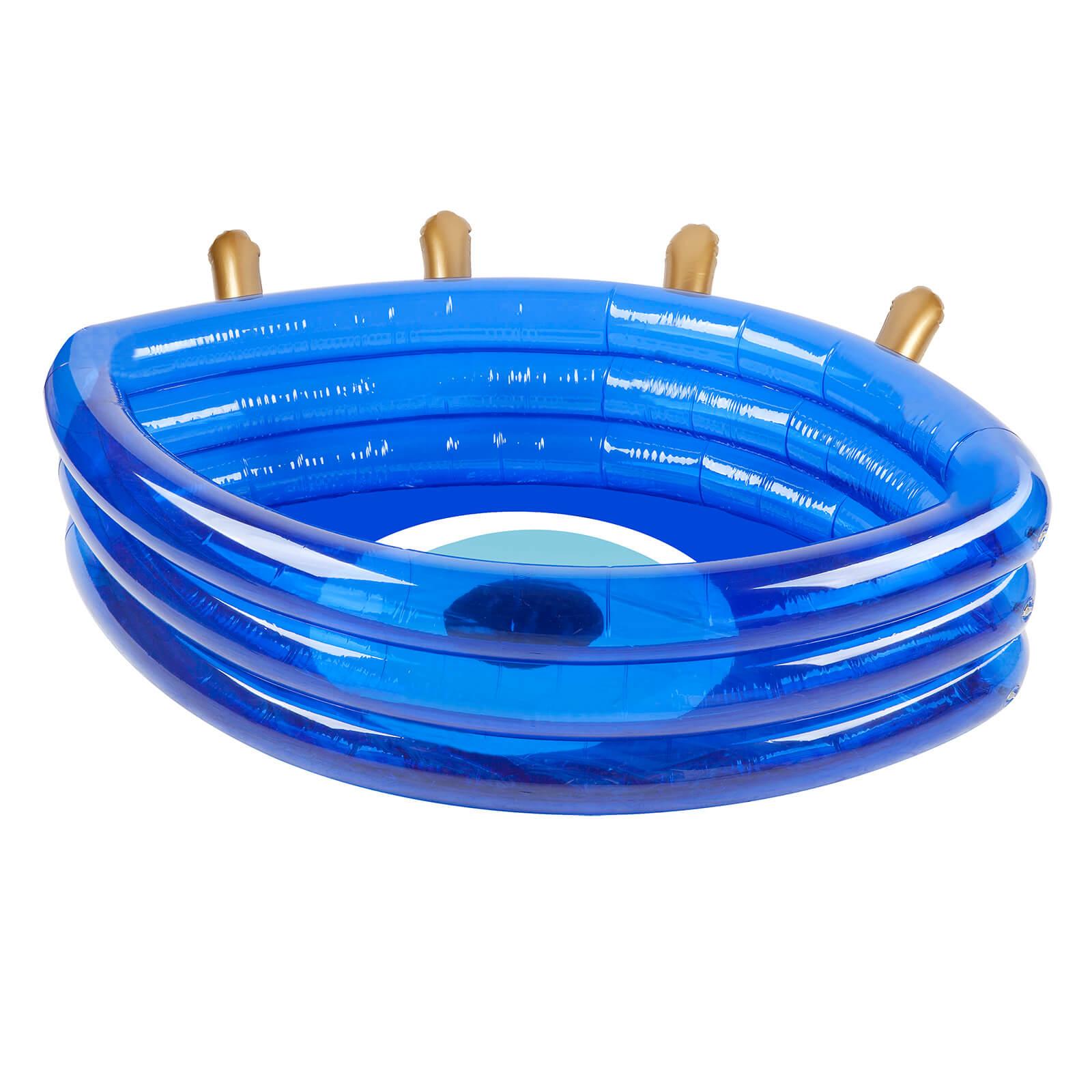 Sunnylife Greek Eye Paddling Pool   Electric Blue