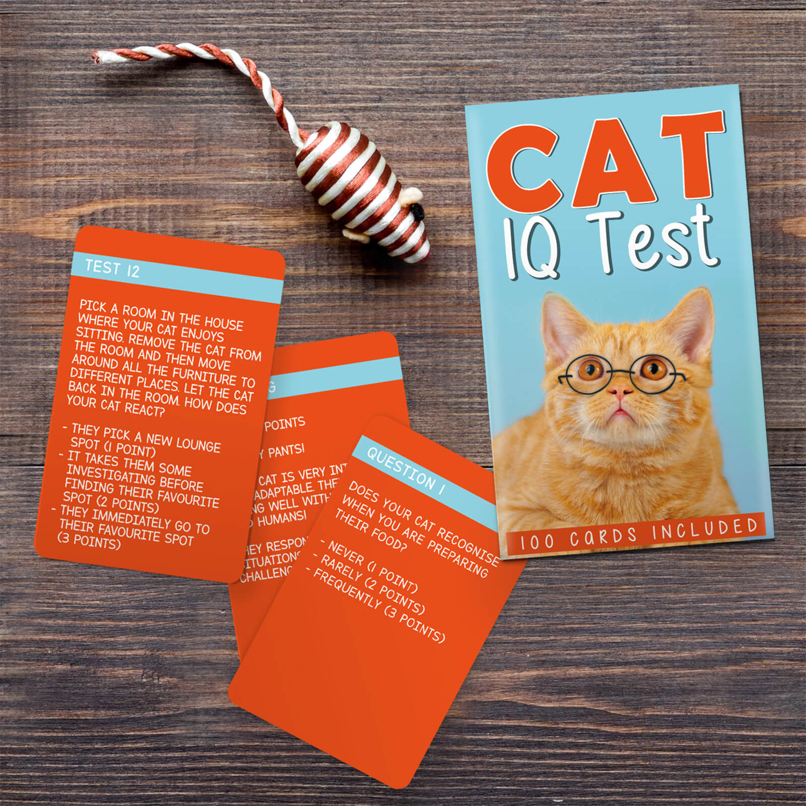 Image of Cat IQ Test Cards