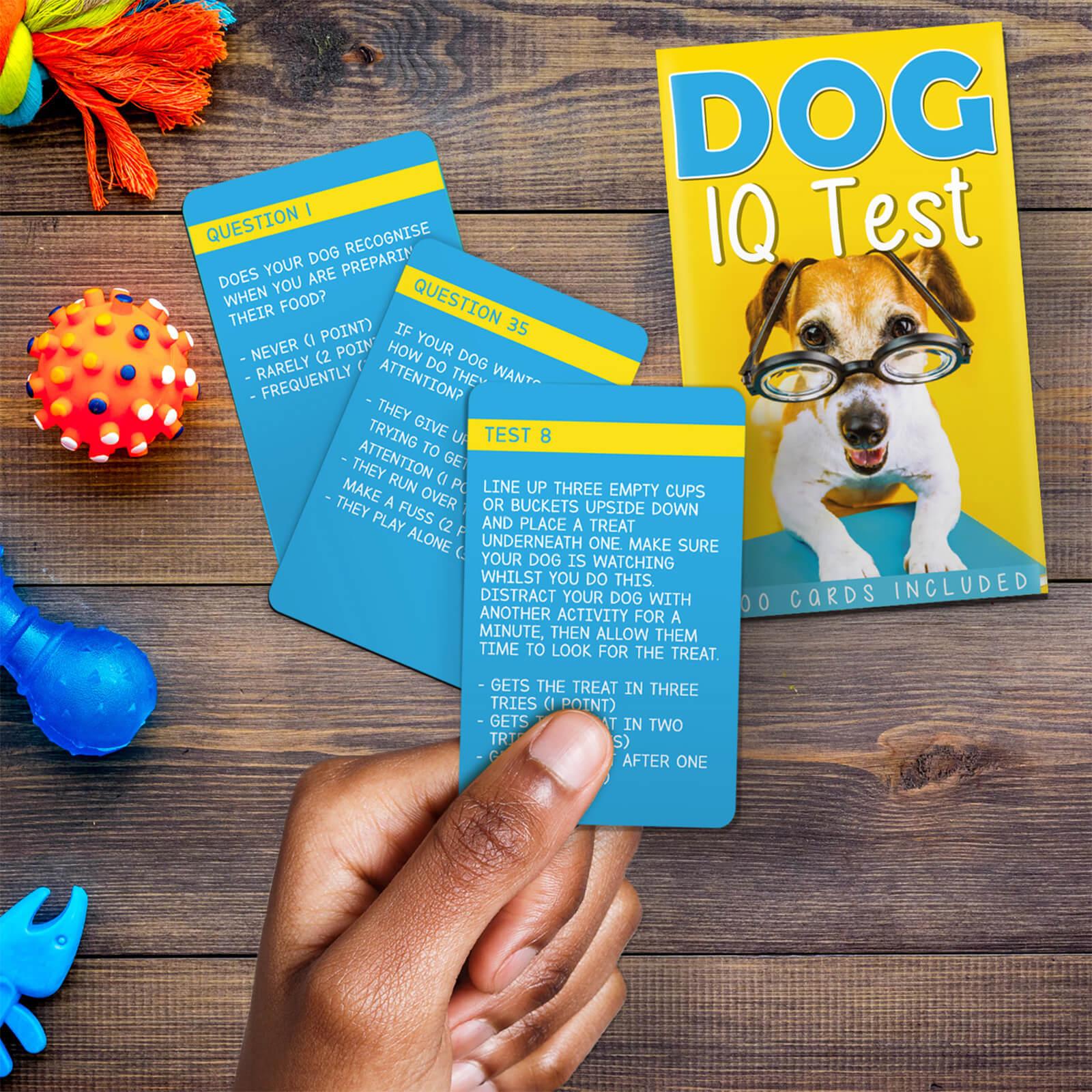Image of Dog IQ Test Cards