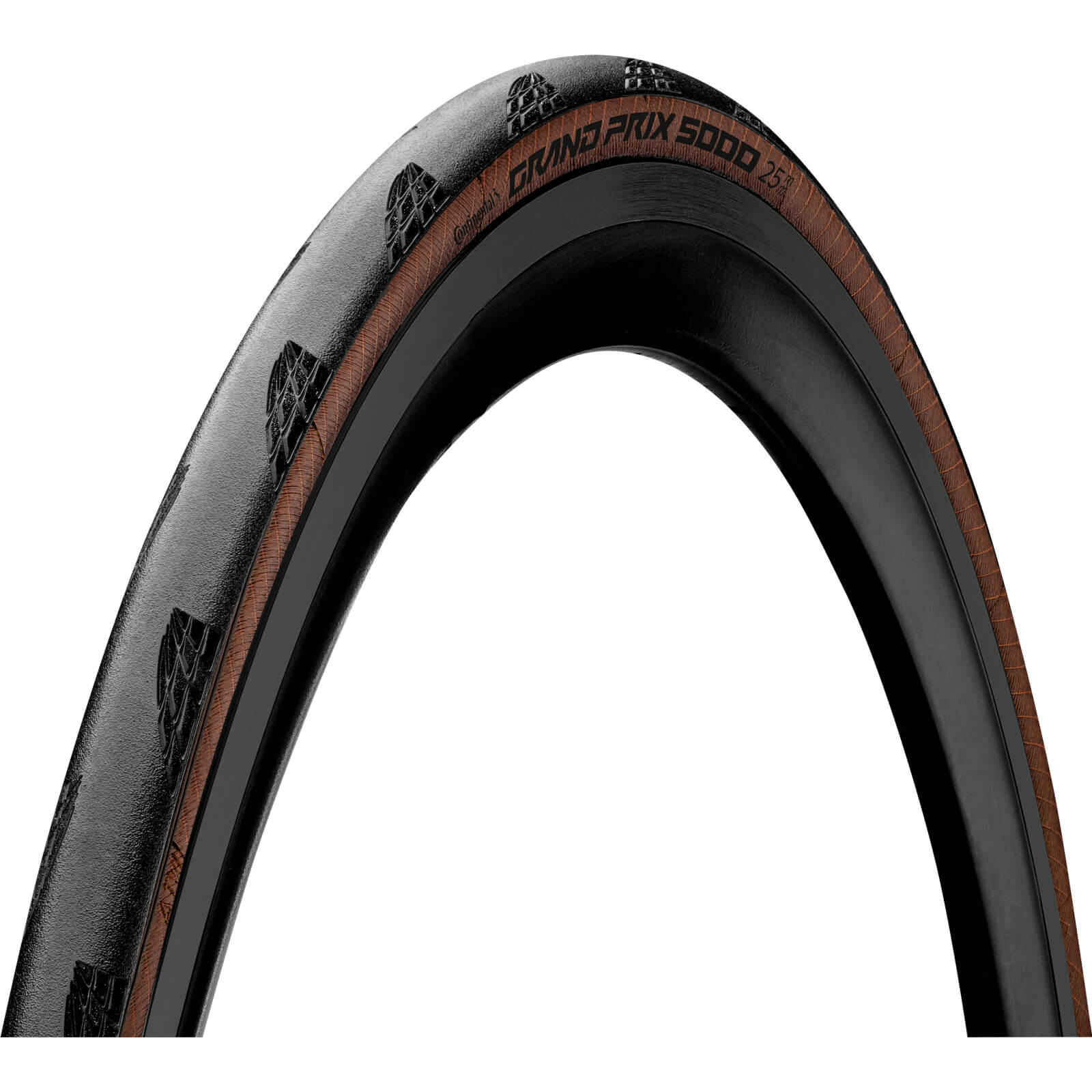 Continental Grand Prix 5000 Clincher Road Tyre – Transparent - 25mm