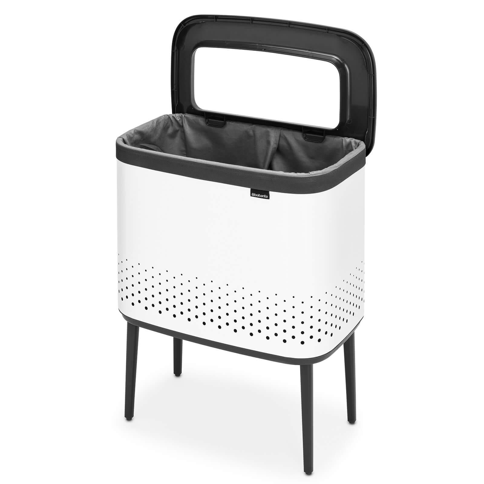 Brabantia Bo Laundry Bin 60 L - White