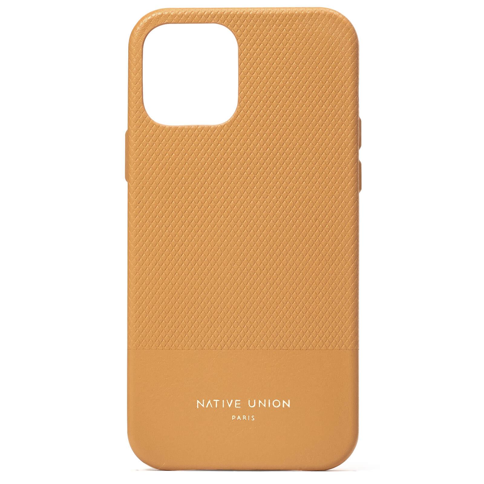 Native Union Clic Heritage iPhone Case - Ocre - iPhone 12/12 Pro