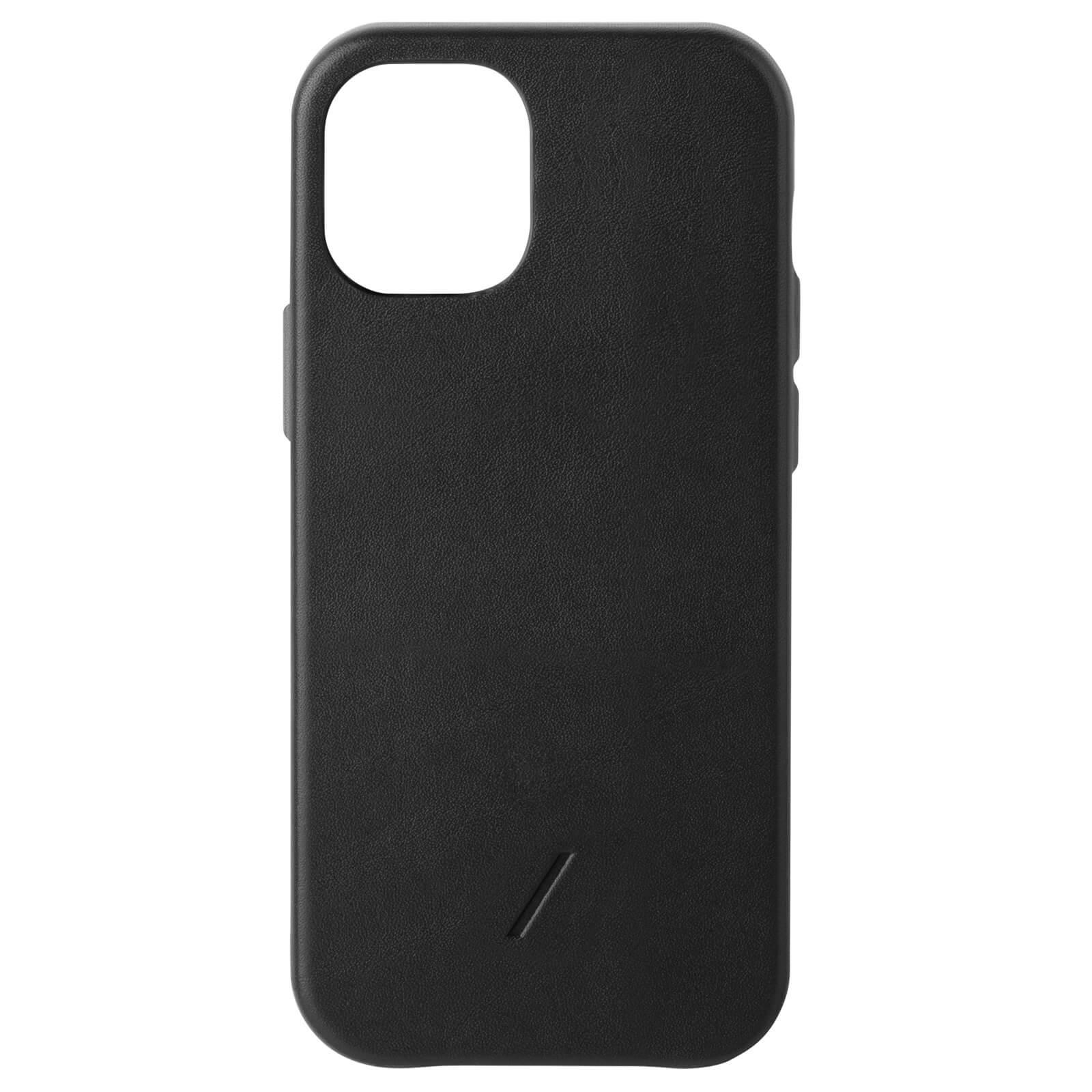 Native Union Clic Classic iPhone Case - Black - iPhone 12/12 Pro