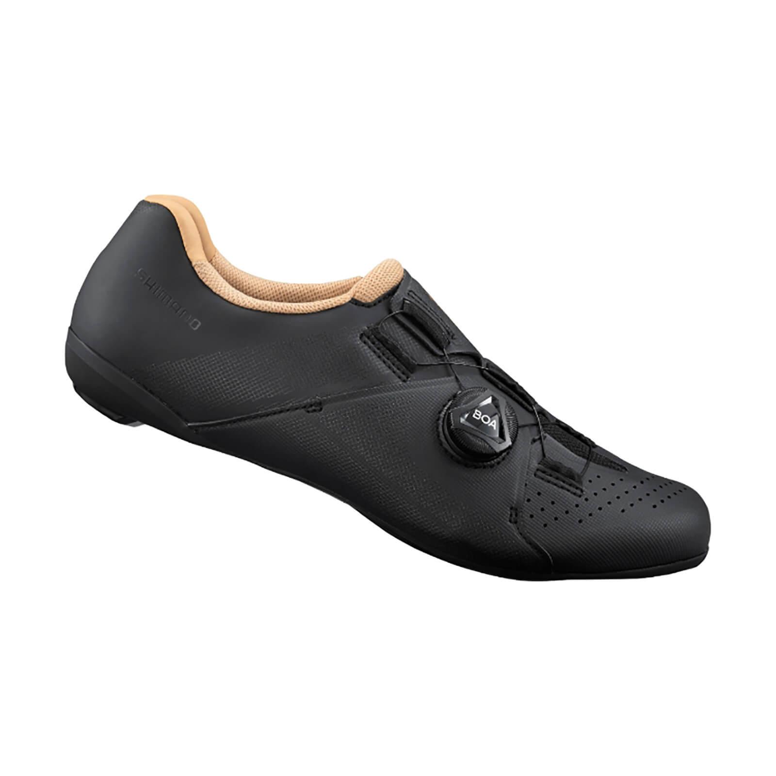 Shimano Women's SH-RC300W Road Shoes - EU 39 - Black