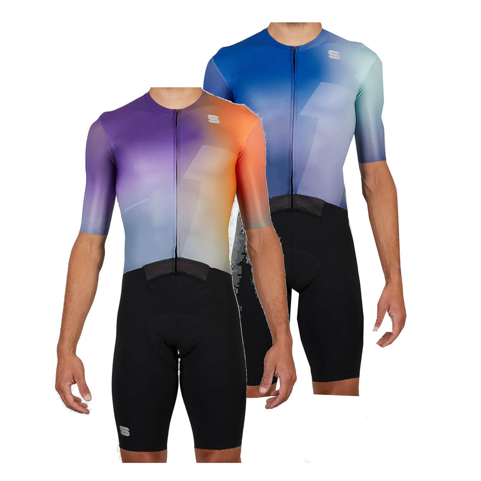 Sportful Bomber Suit - S - Orange/Violet