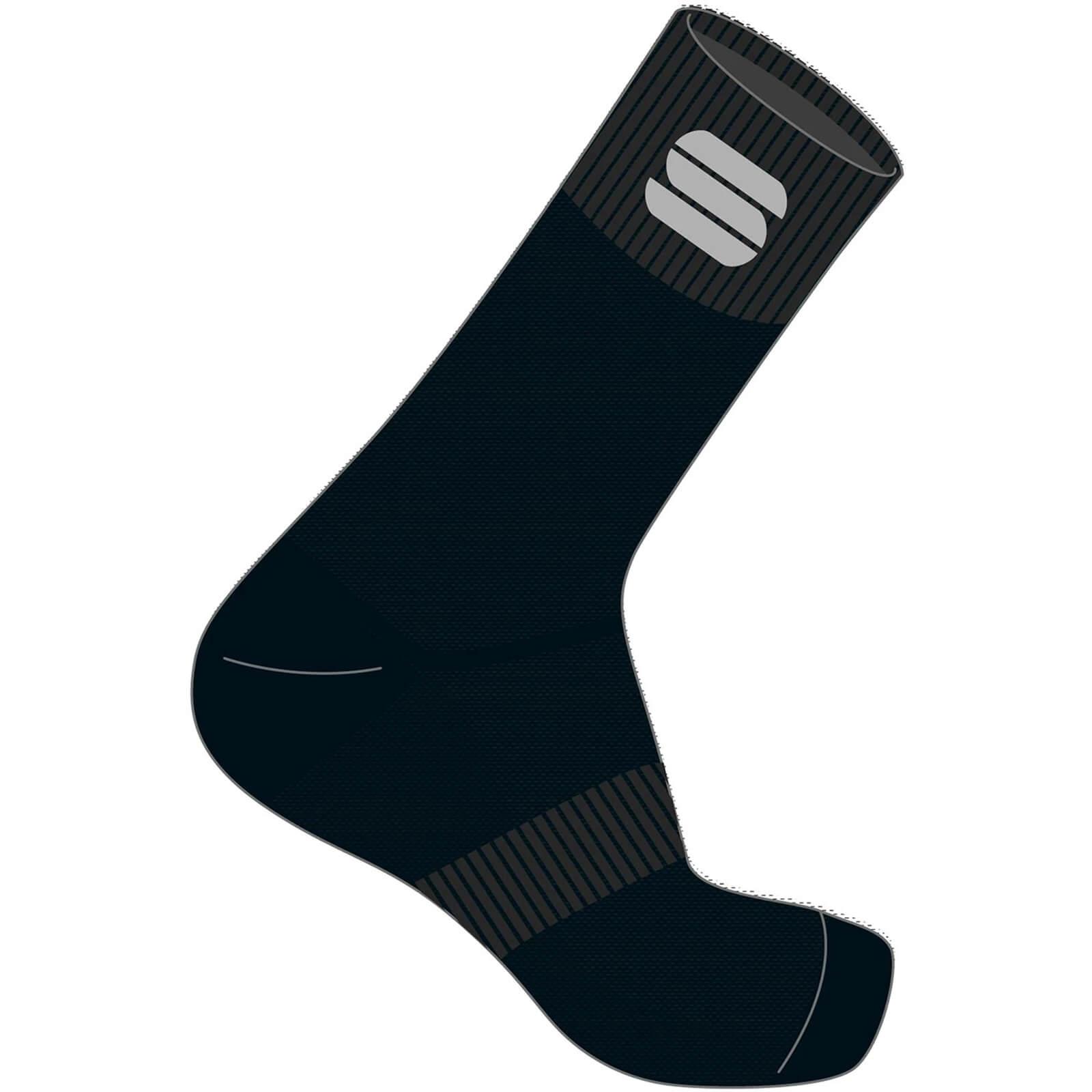 Sportful Matchy Socks - XL - Schwarz