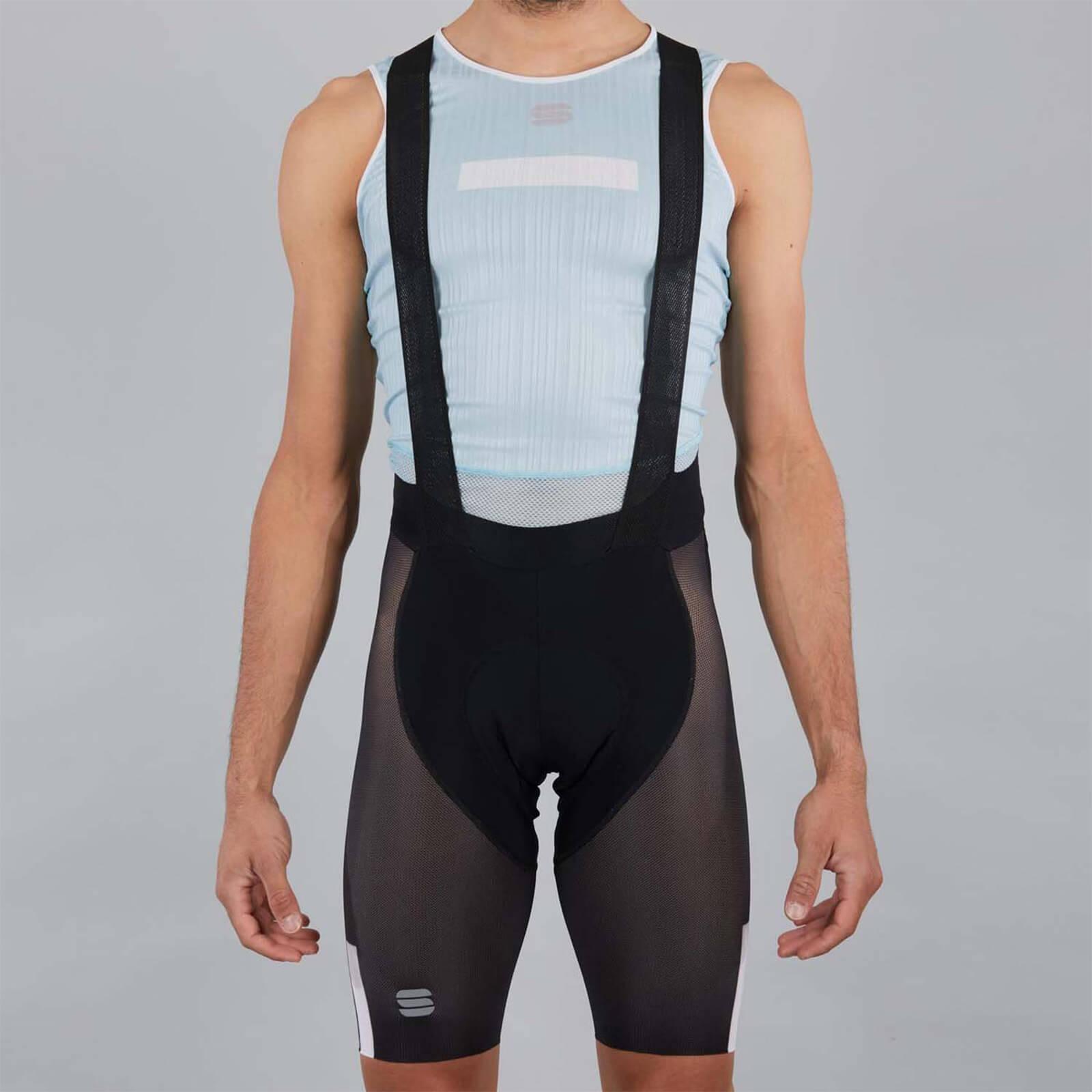 Sportful BodyFit Pro Air Bib Shorts - XXL - Black/White