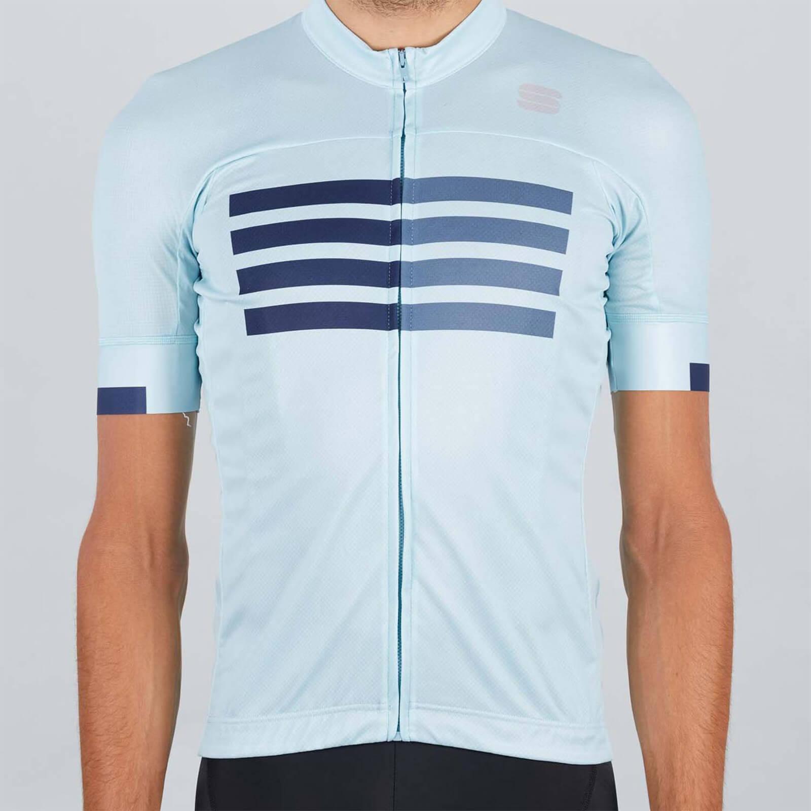 Sportful Wire Jersey - S - Blue Sky/Blue/Blue Sea