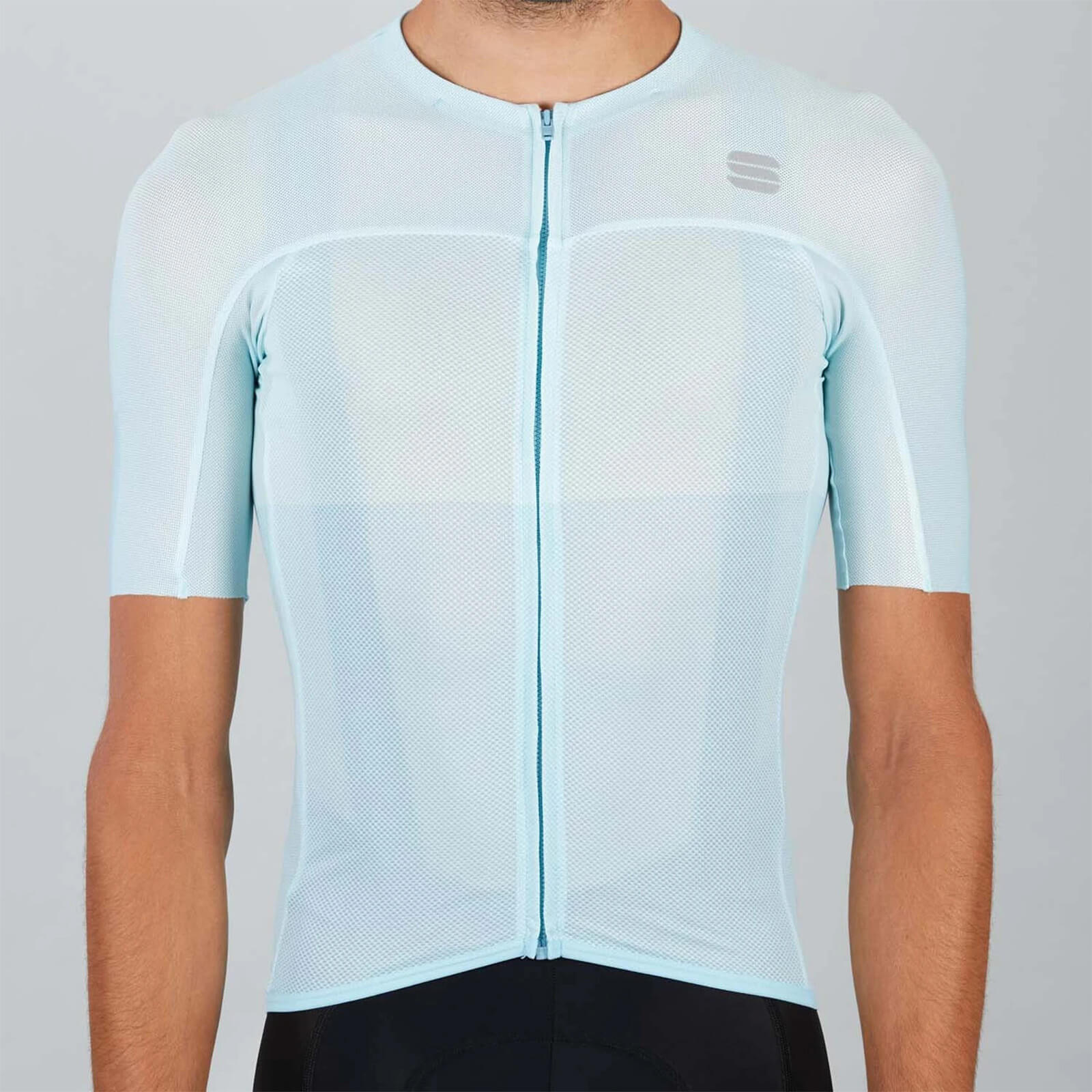 Sportful BodyFit Pro Light Jersey - M - Blue Sky/White