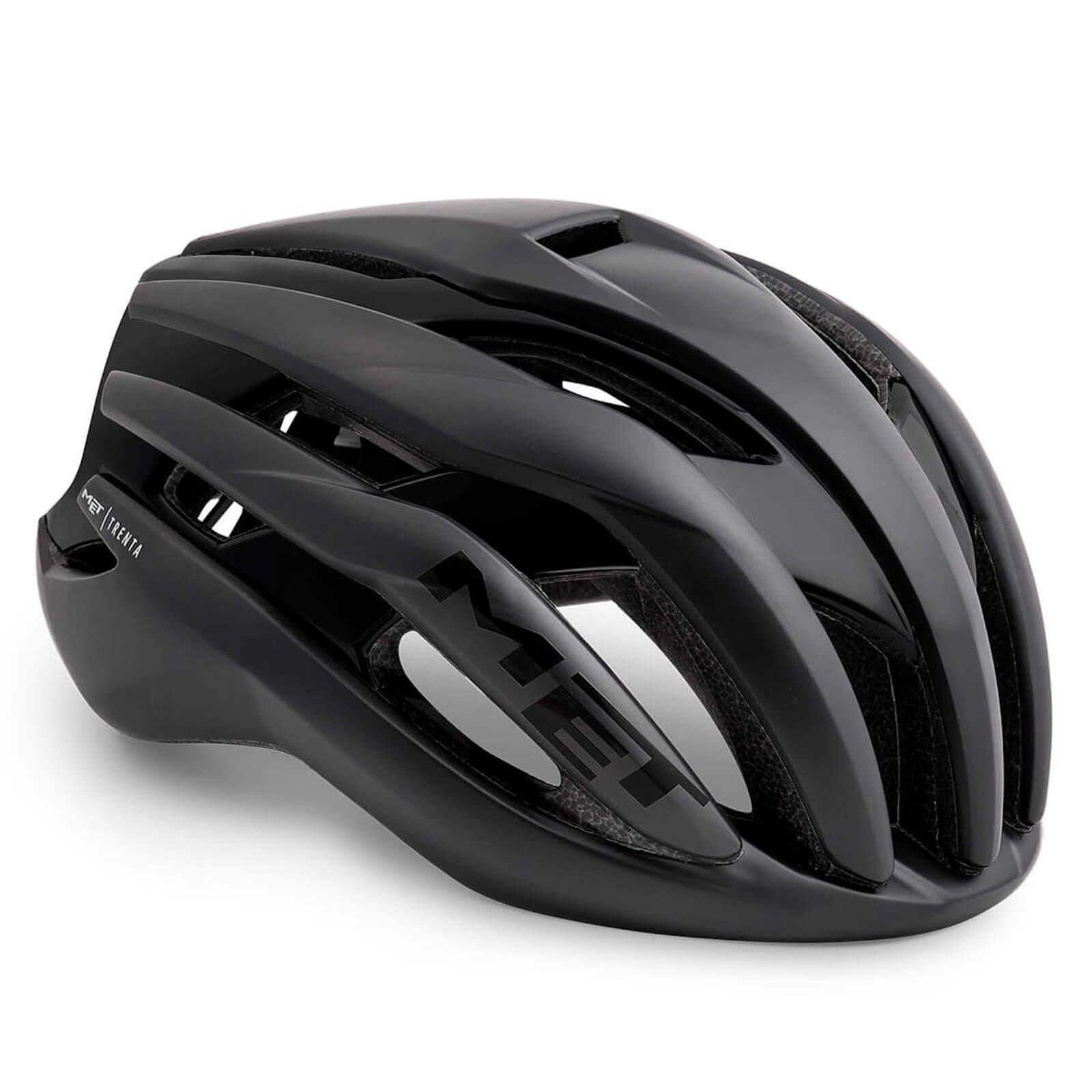 MET Trenta MIPS Road Helmet - S/52-56cm - Schwarz
