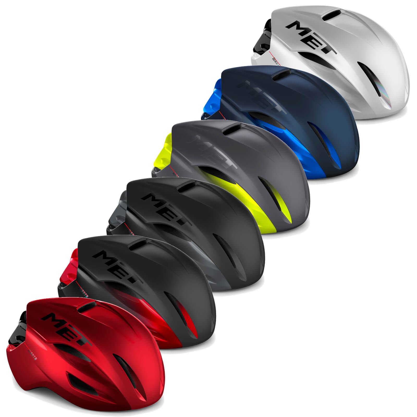 MET Manta Road Helmet - M/54-58cm - Shaded Gray