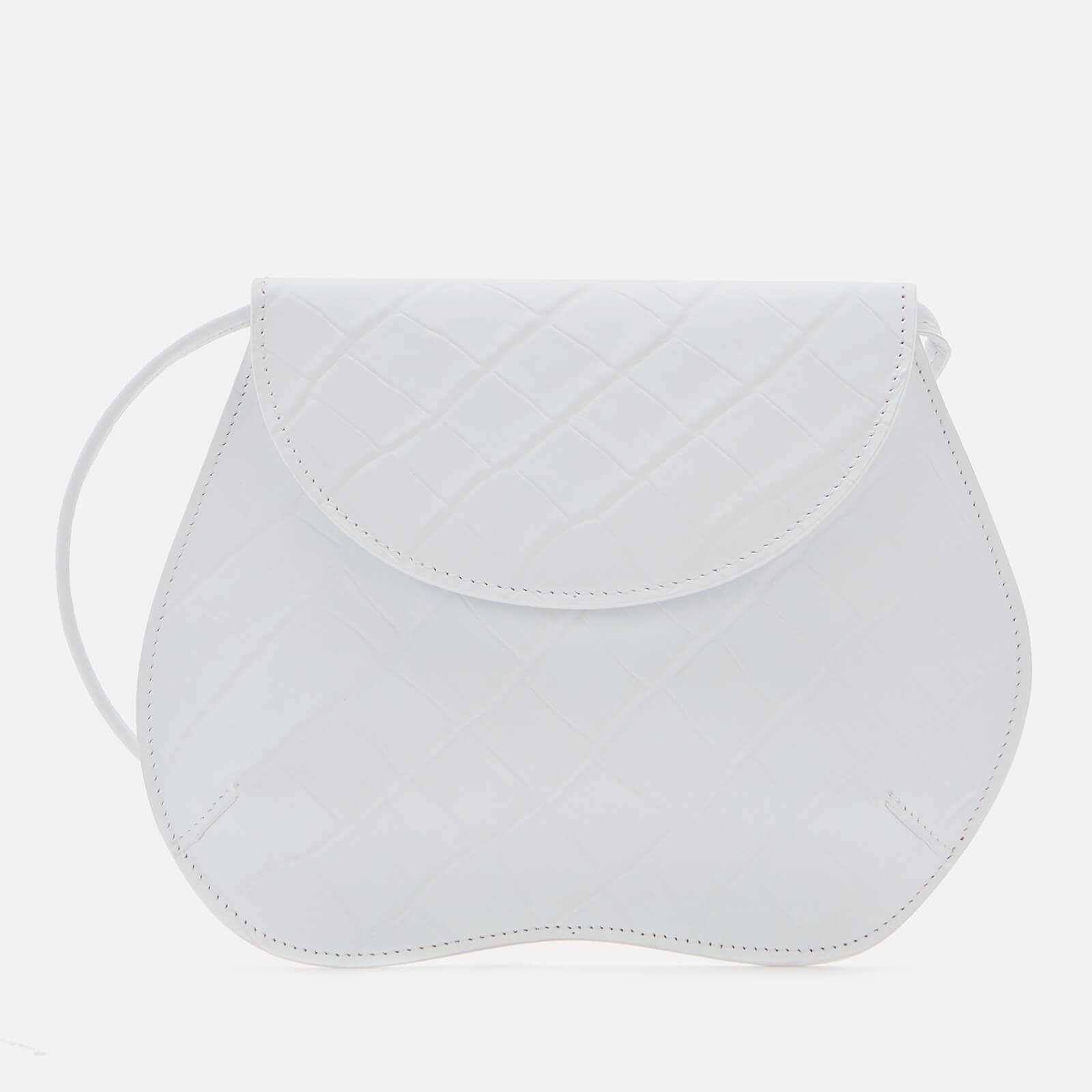 Little Liffner Women's Pebble Croc Mini Bag - White
