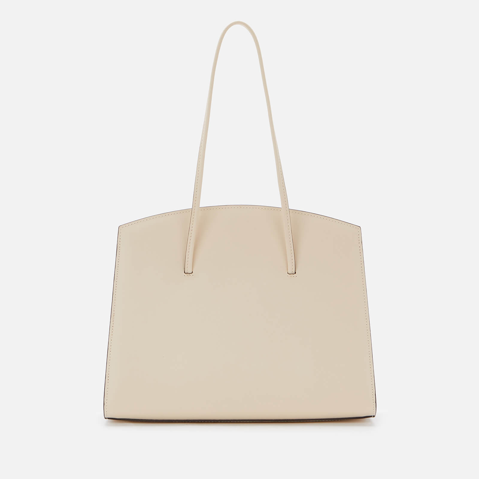Little Liffner Women's Minimal Tote Bag Smooth - Beige