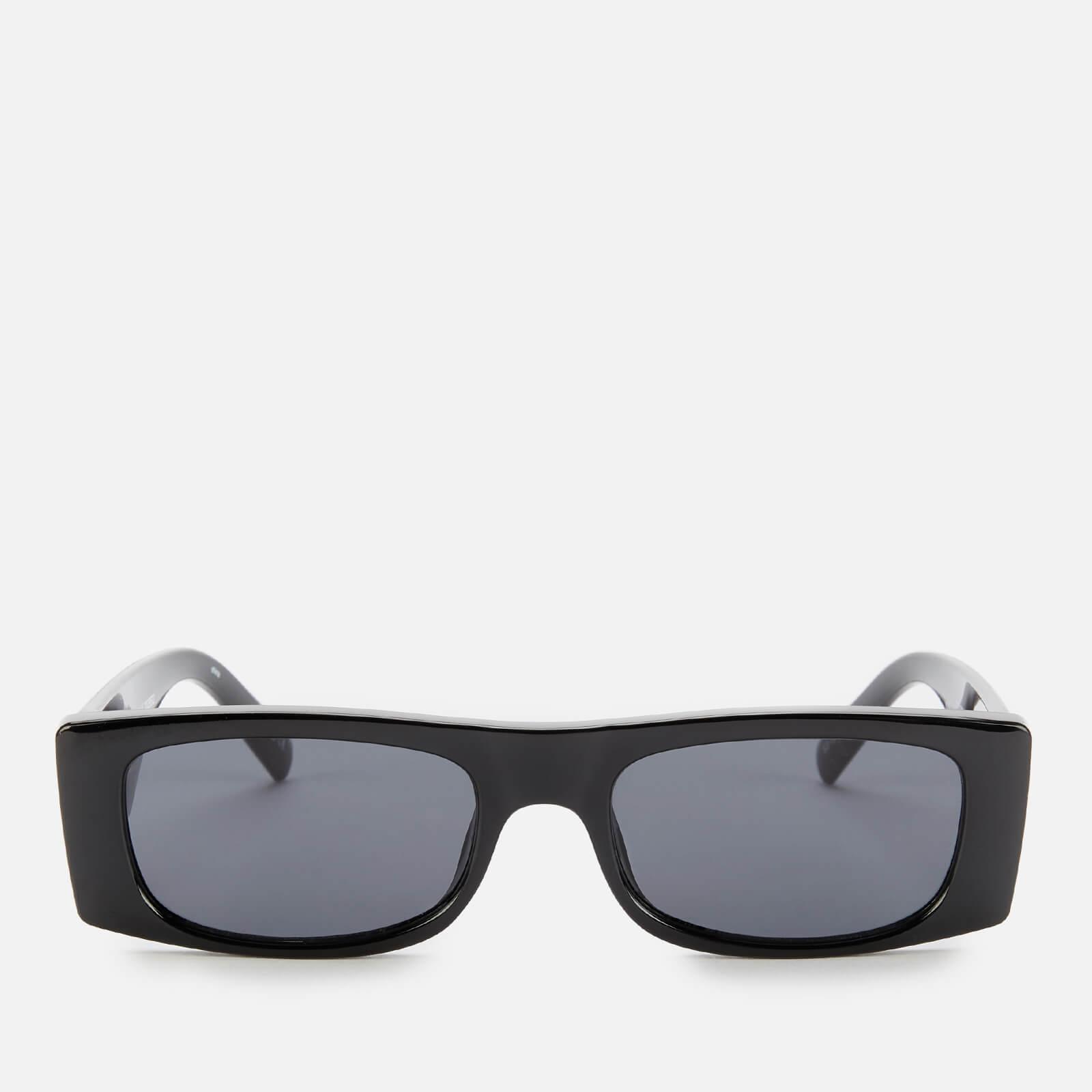 Le Specs Women's Recovery Rectangular Sunglasses - Black