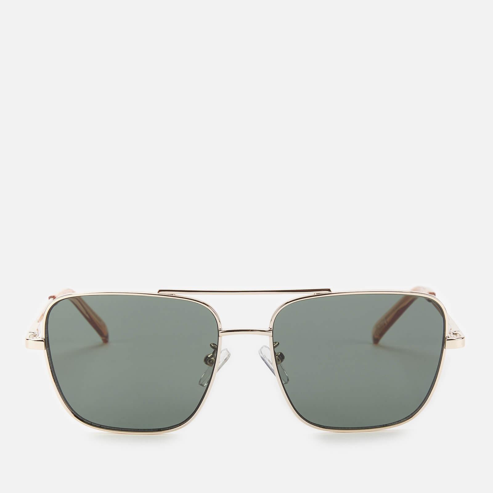 Le Specs Women's Hercules Square Sunglasses - Gold/Stone