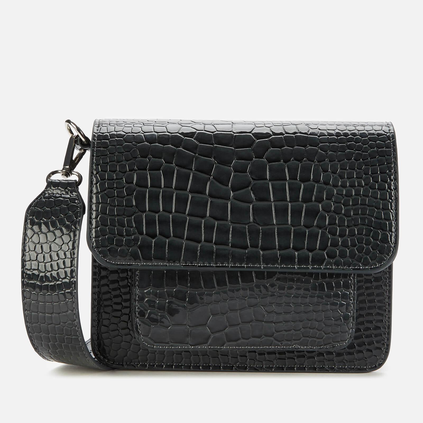 HVISK Women's Cayman Pocket Cross Body Bag - Grey Dark