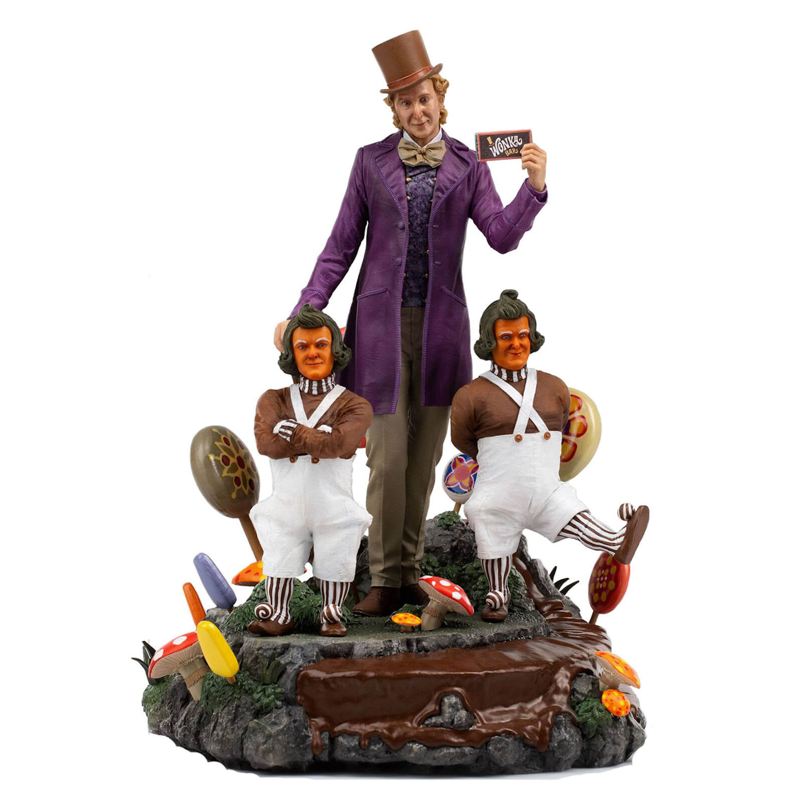 Iron Studios Willy Wonka & the Chocolate Factory (1971) Deluxe Art Scale Statue 1/10 Willy Wonka 25 cm