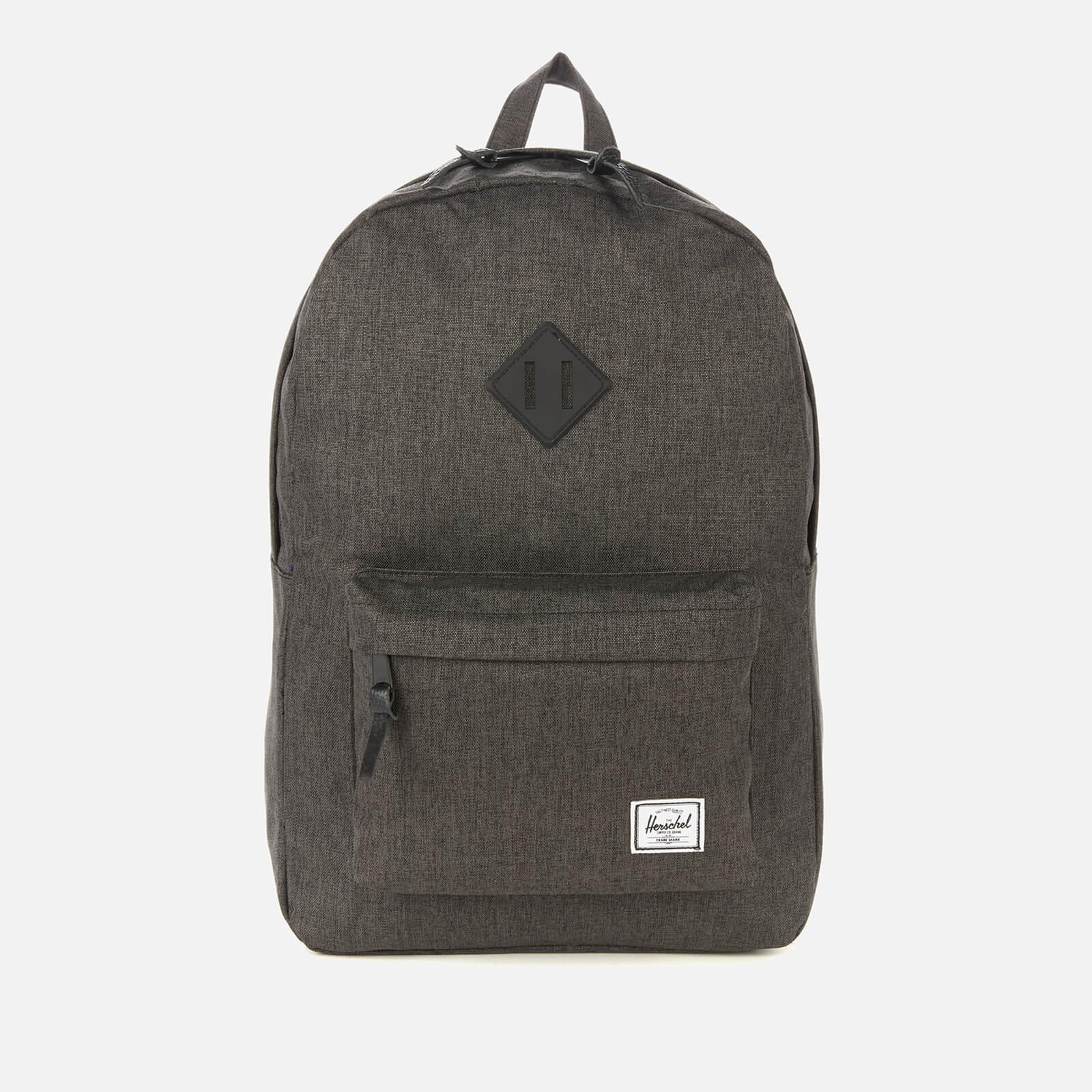 Herschel Supply Co. Men's Heritage Backpack - Black Crosshatch