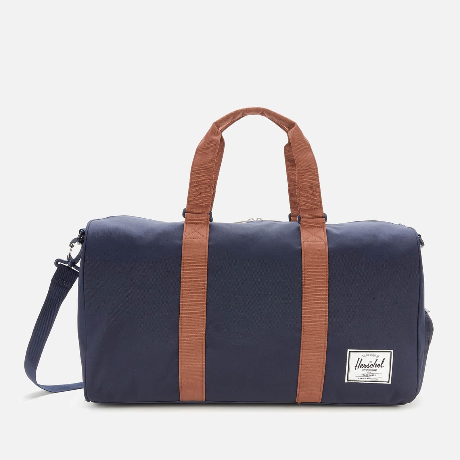 Herschel Supply Co. Men's Novel Duffle Bag - Peacoat/Saddle Brown