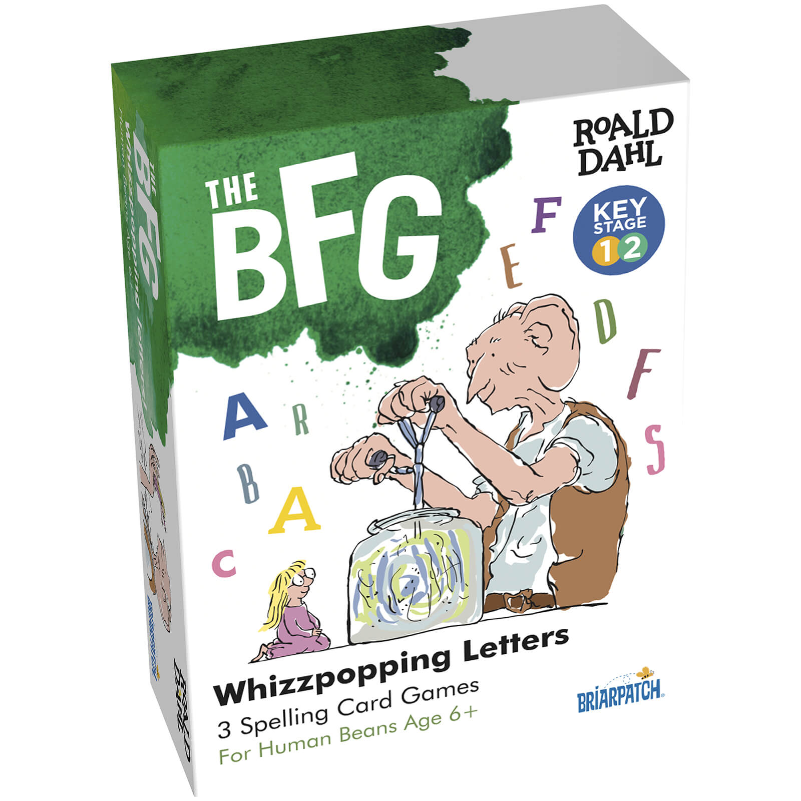 Image of Roald Dahl BFG Spelling Educational Games